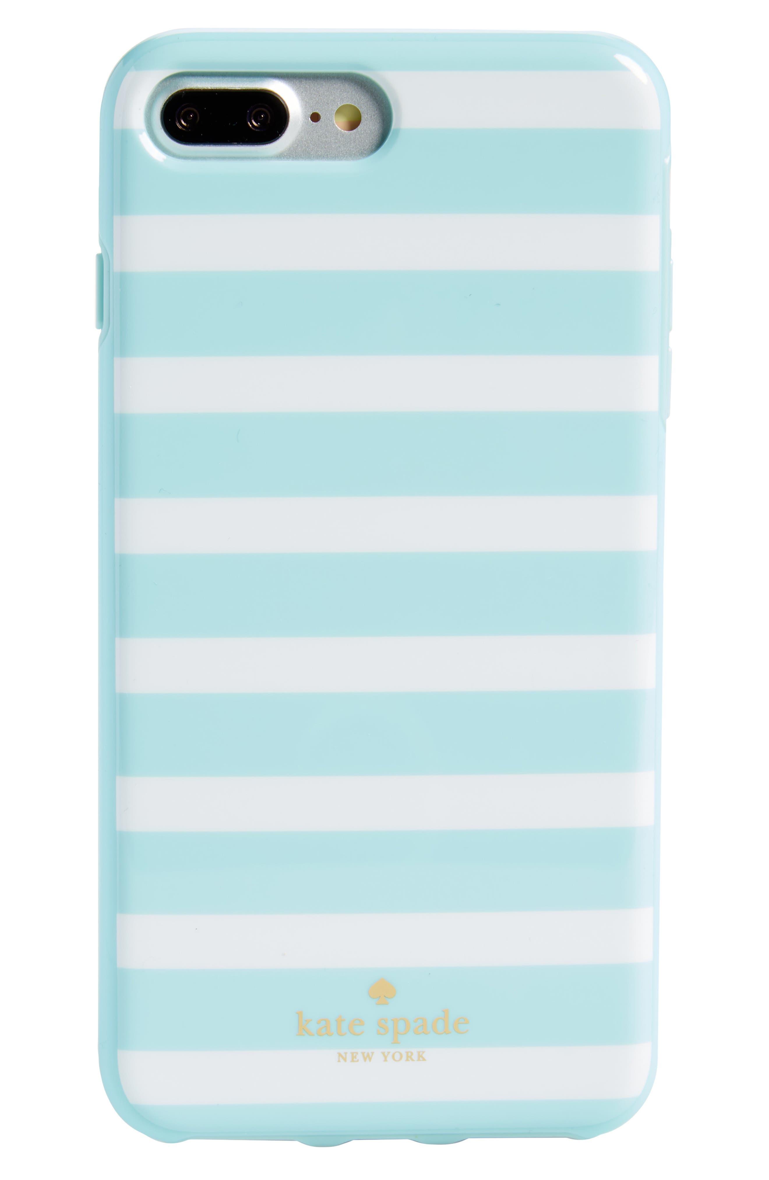 kate spade new york fairmount square stripe iPhone 6/7 & 6/7 Plus Case