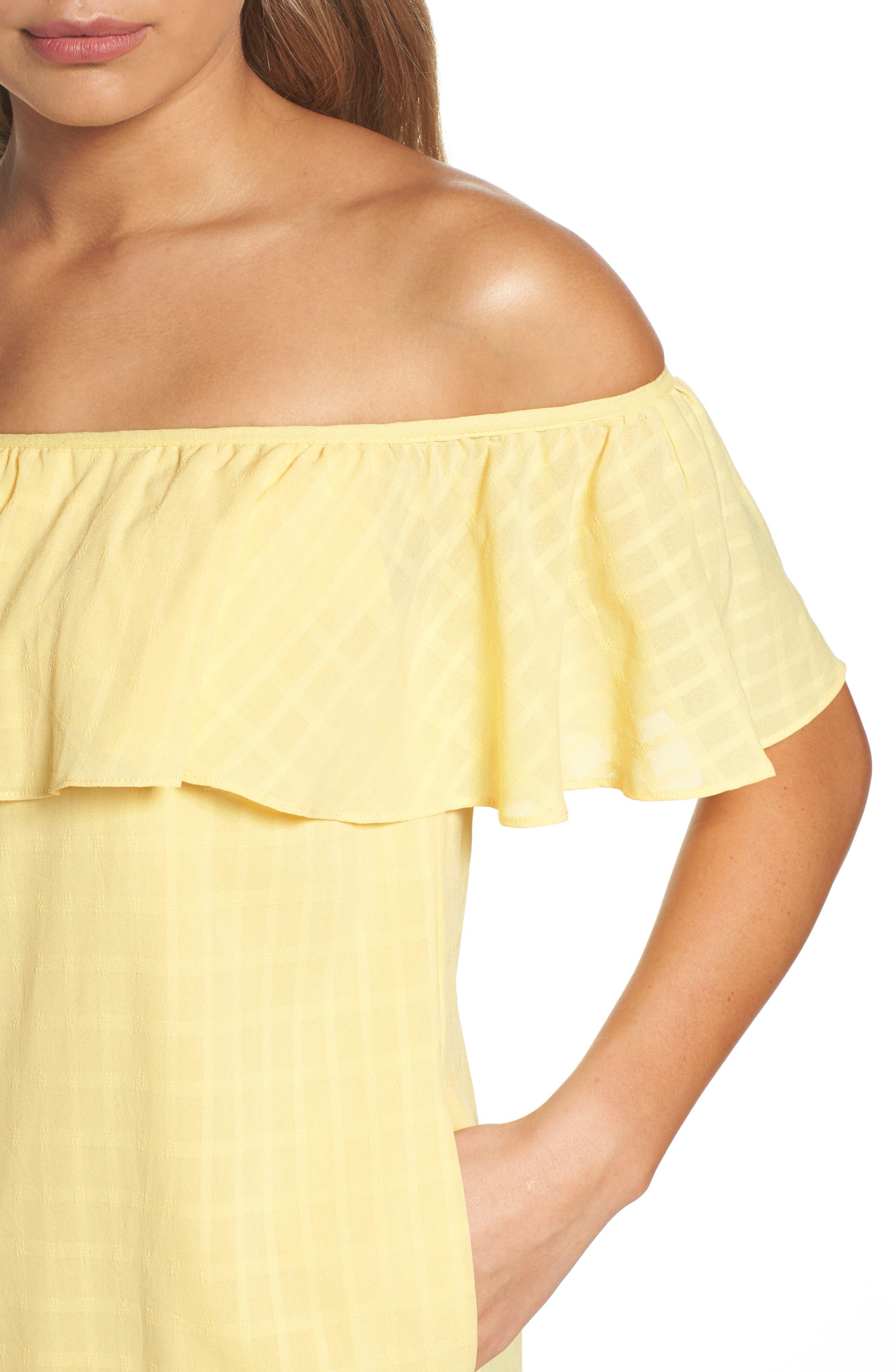 Alternate Image 5  - Ali & Jay Bonita Señorita Shift Dress