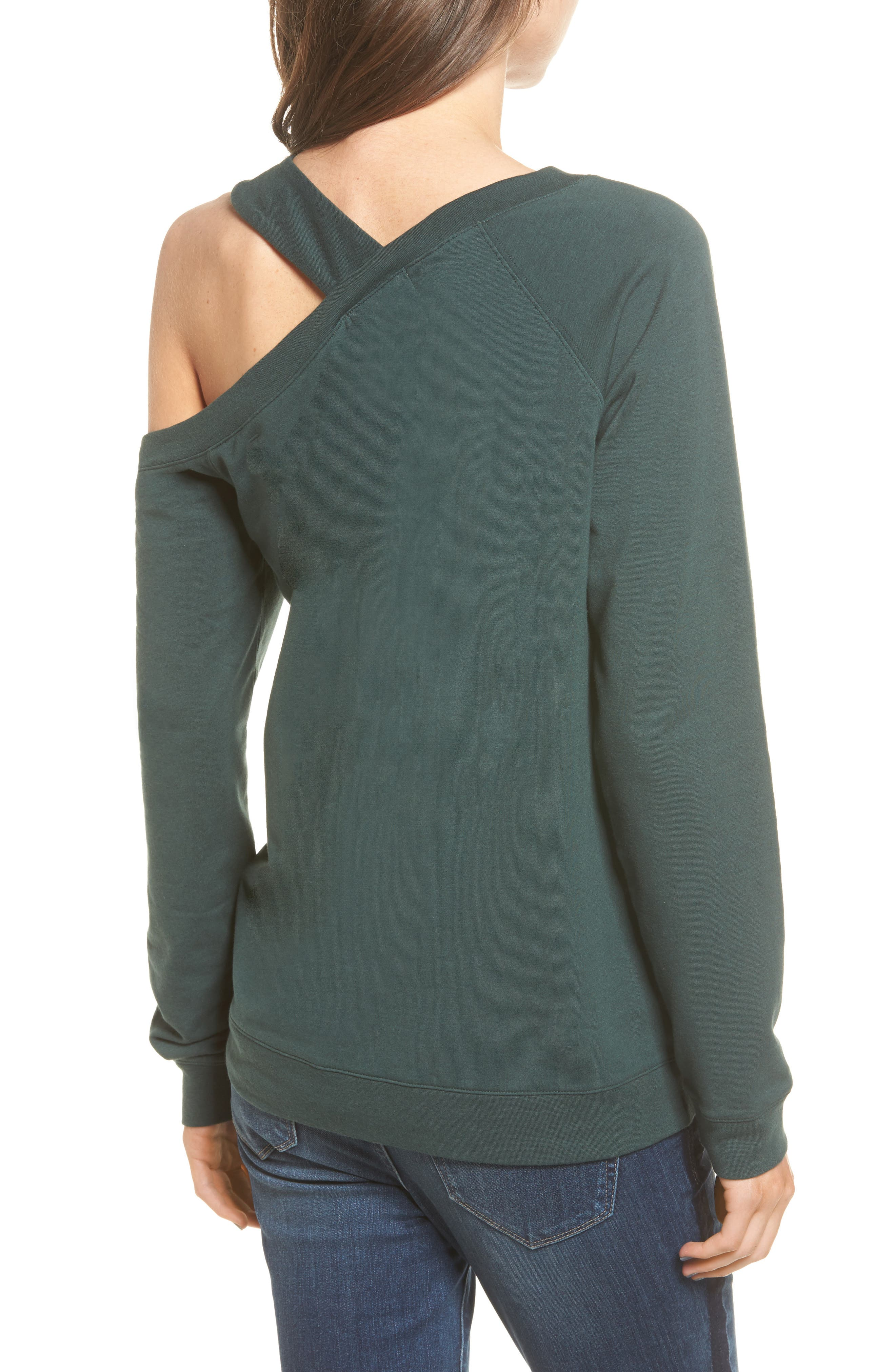 Alternate Image 3  - Treasure & Bond Asymmetrical Sweatshirt