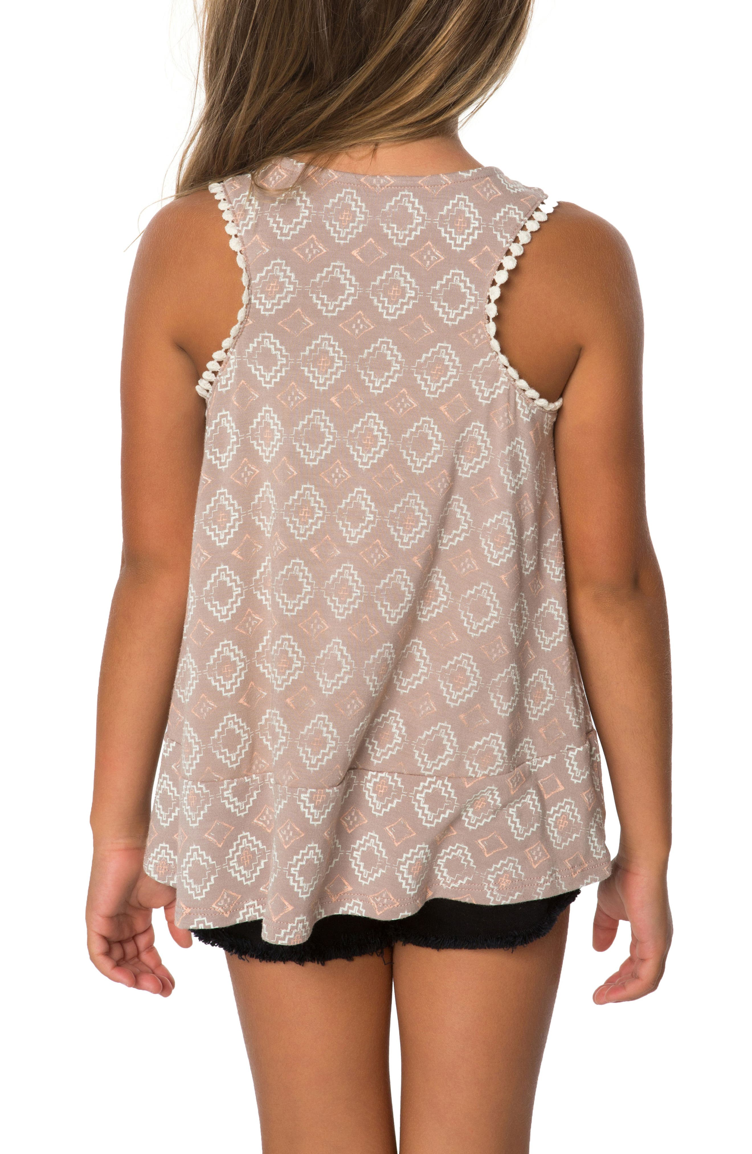 Kenny Graphic Tank,                             Alternate thumbnail 2, color,                             Stucco