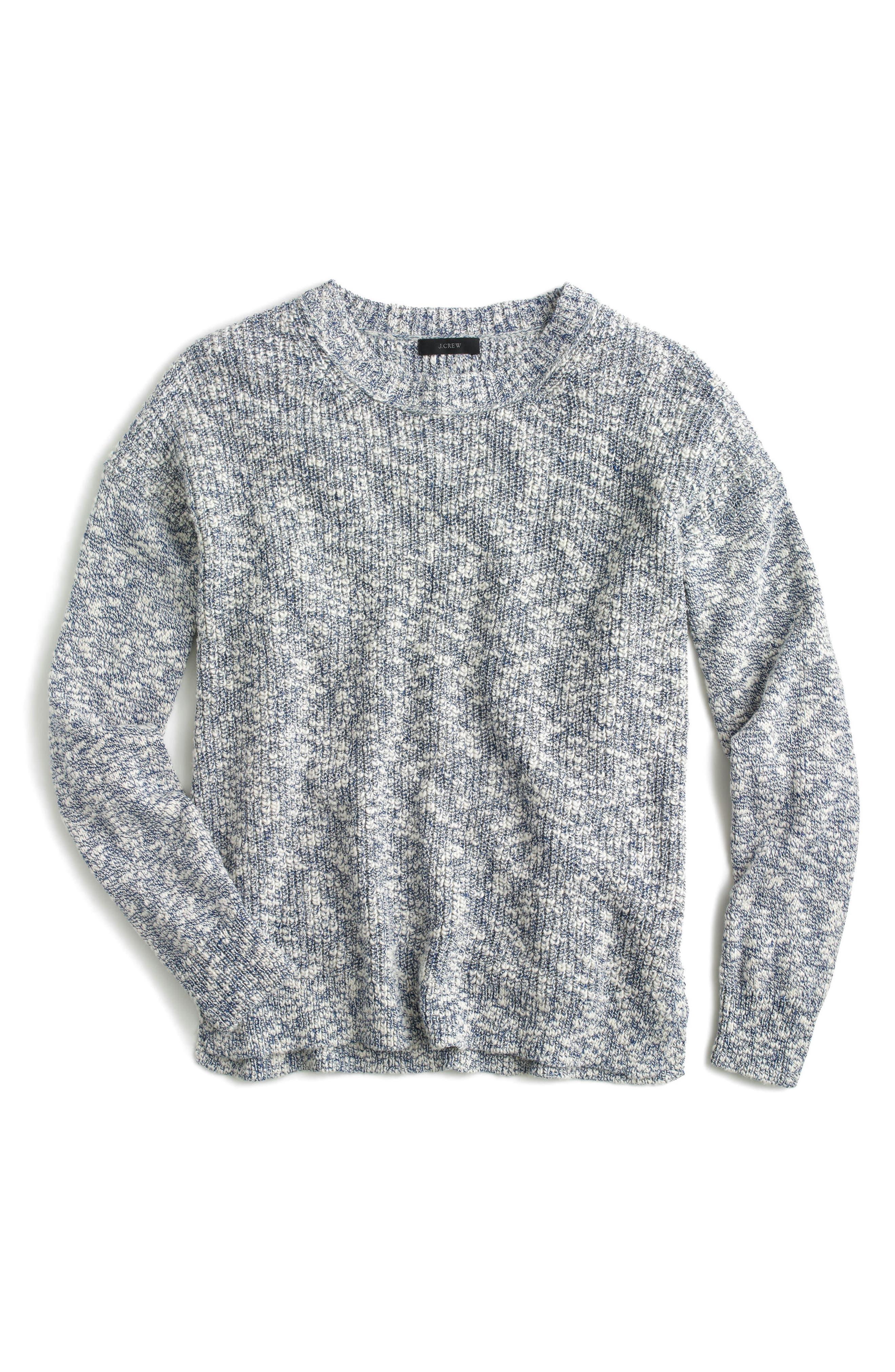 J.Crew Oversize Marled Yarn Sweater