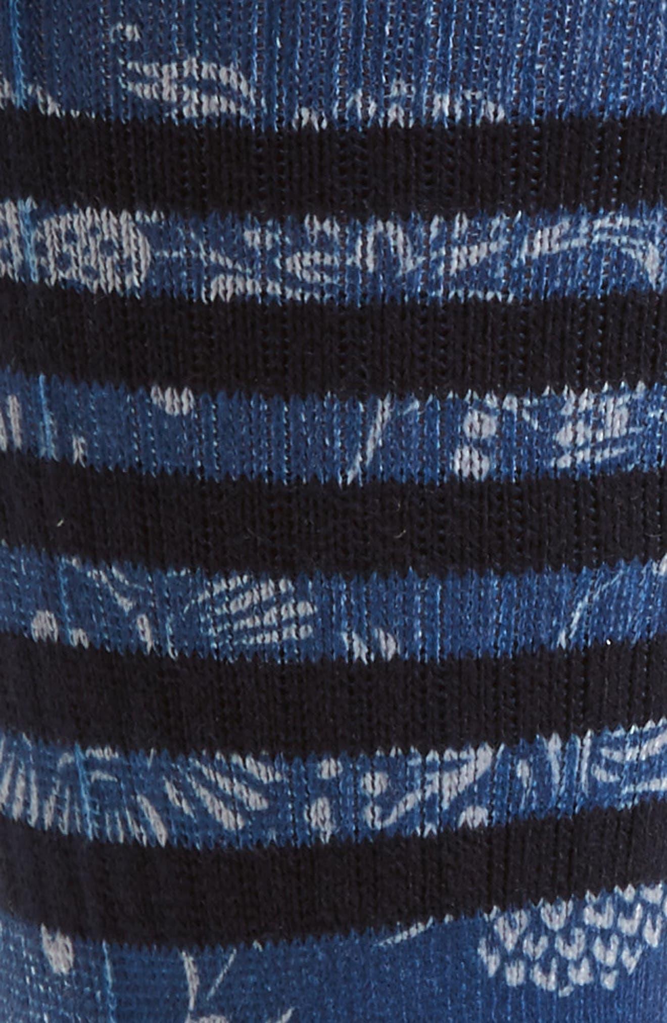 Briar Socks,                             Alternate thumbnail 2, color,                             Periwinkle