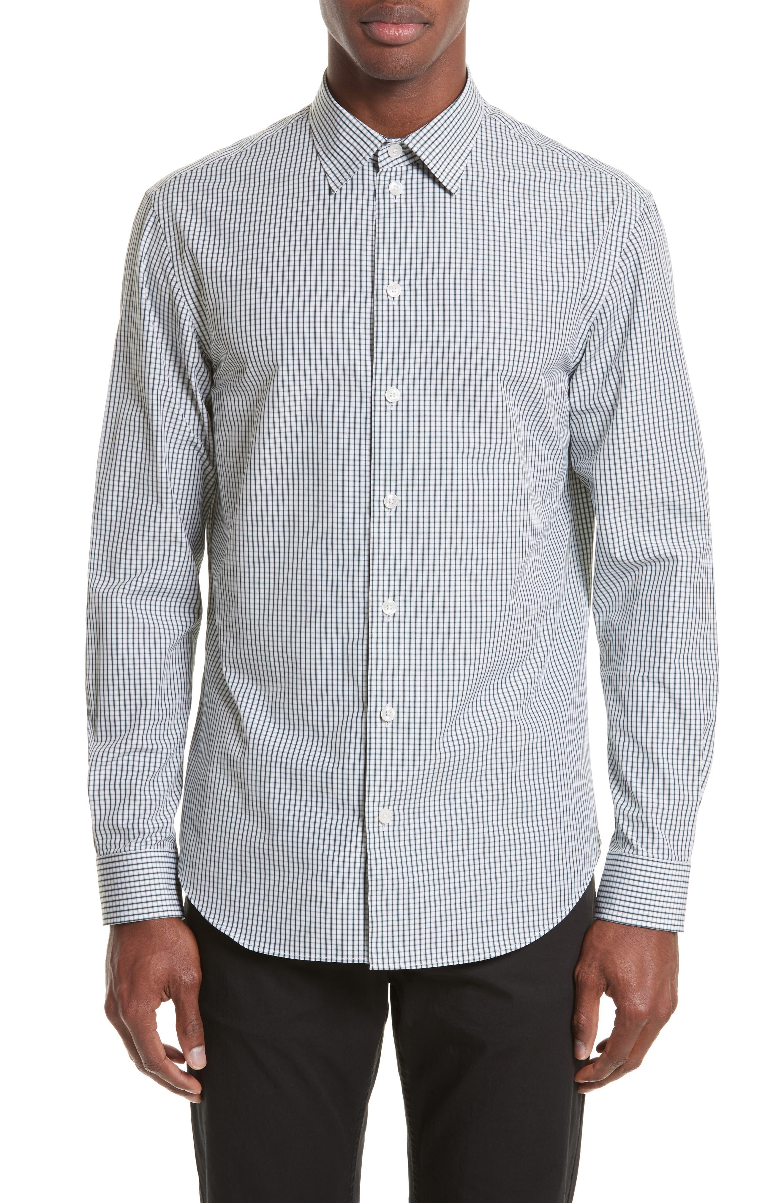 Armani Collezioni Regular Check Sport Shirt