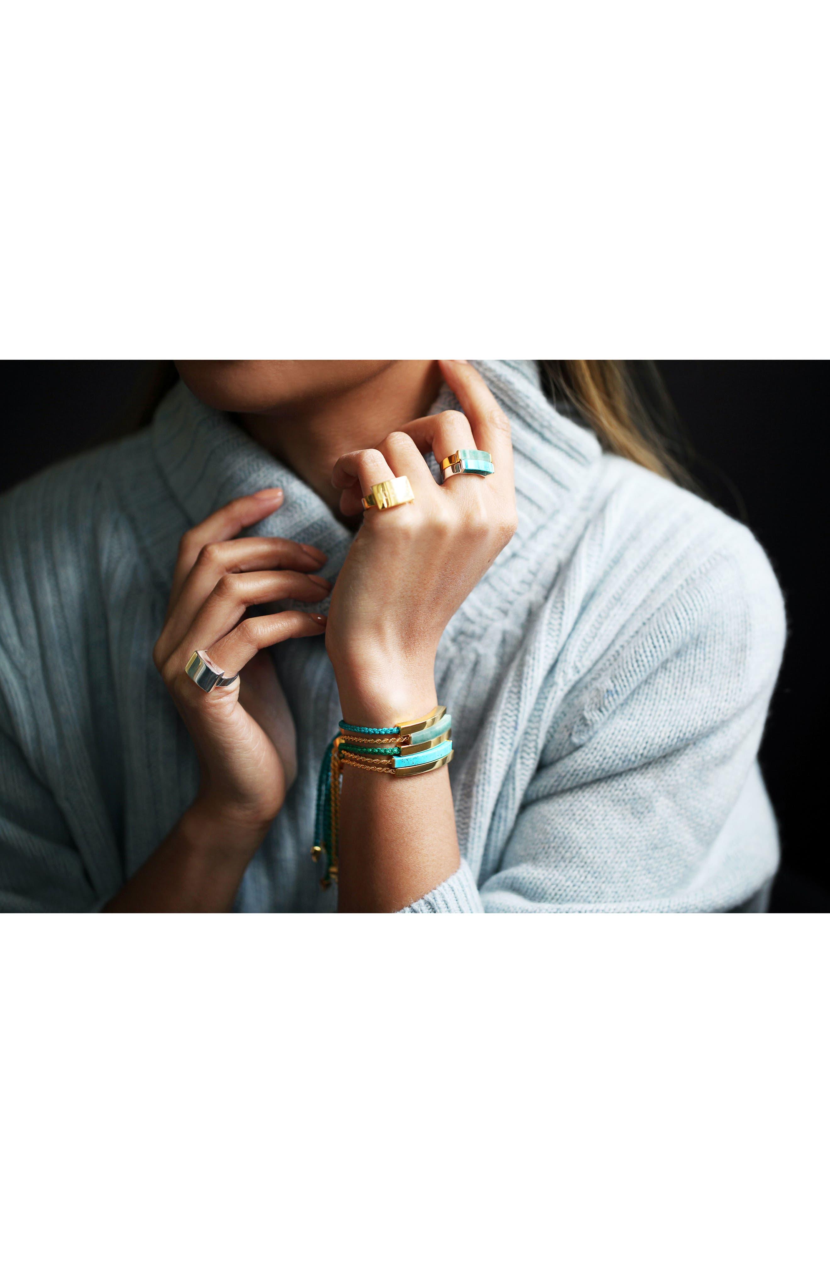 Alternate Image 2  - Monica Vinader Linear Stone Friendship Bracelet