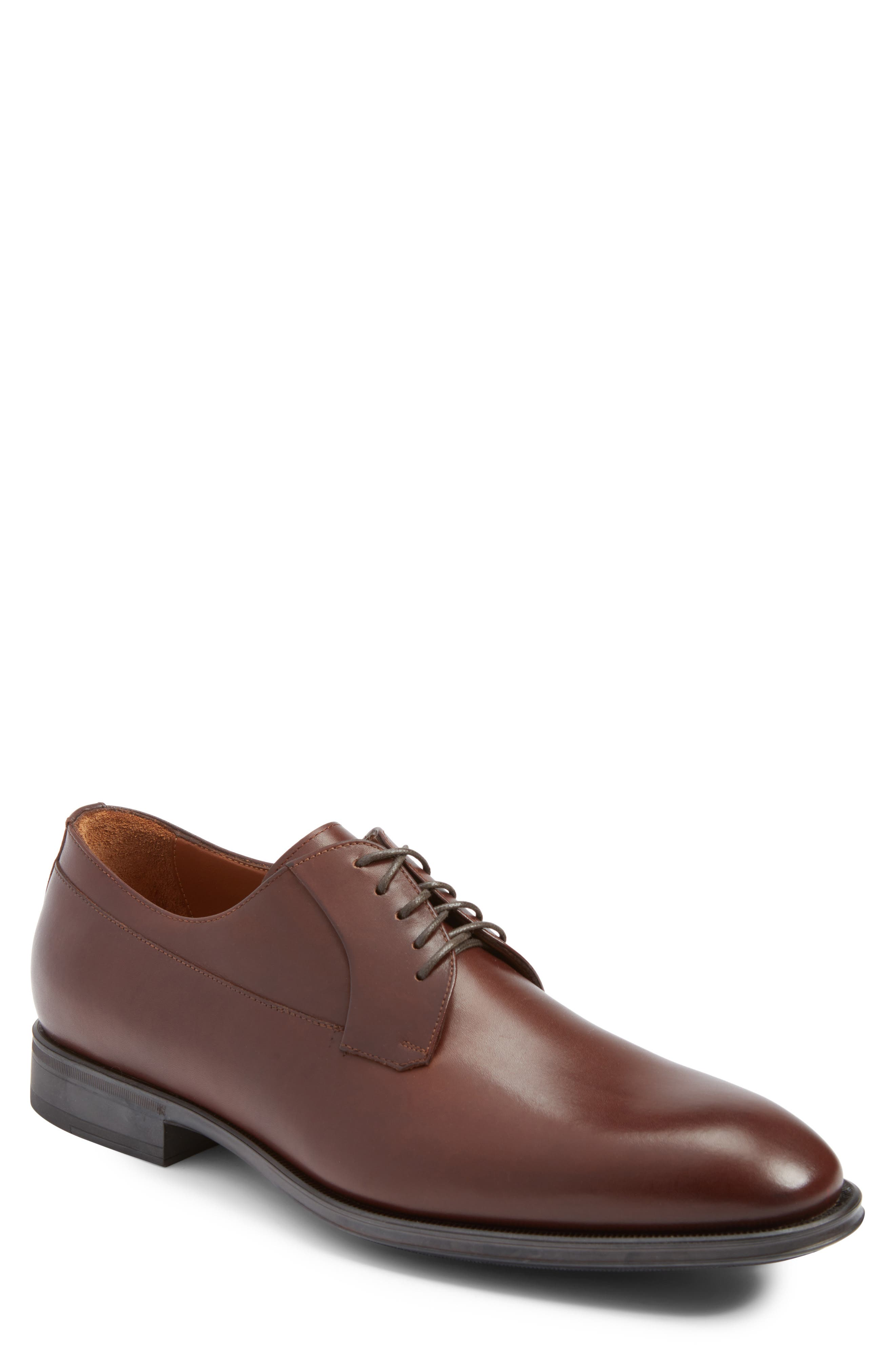 Aquatalia Decker Plain Toe Derby (Men)