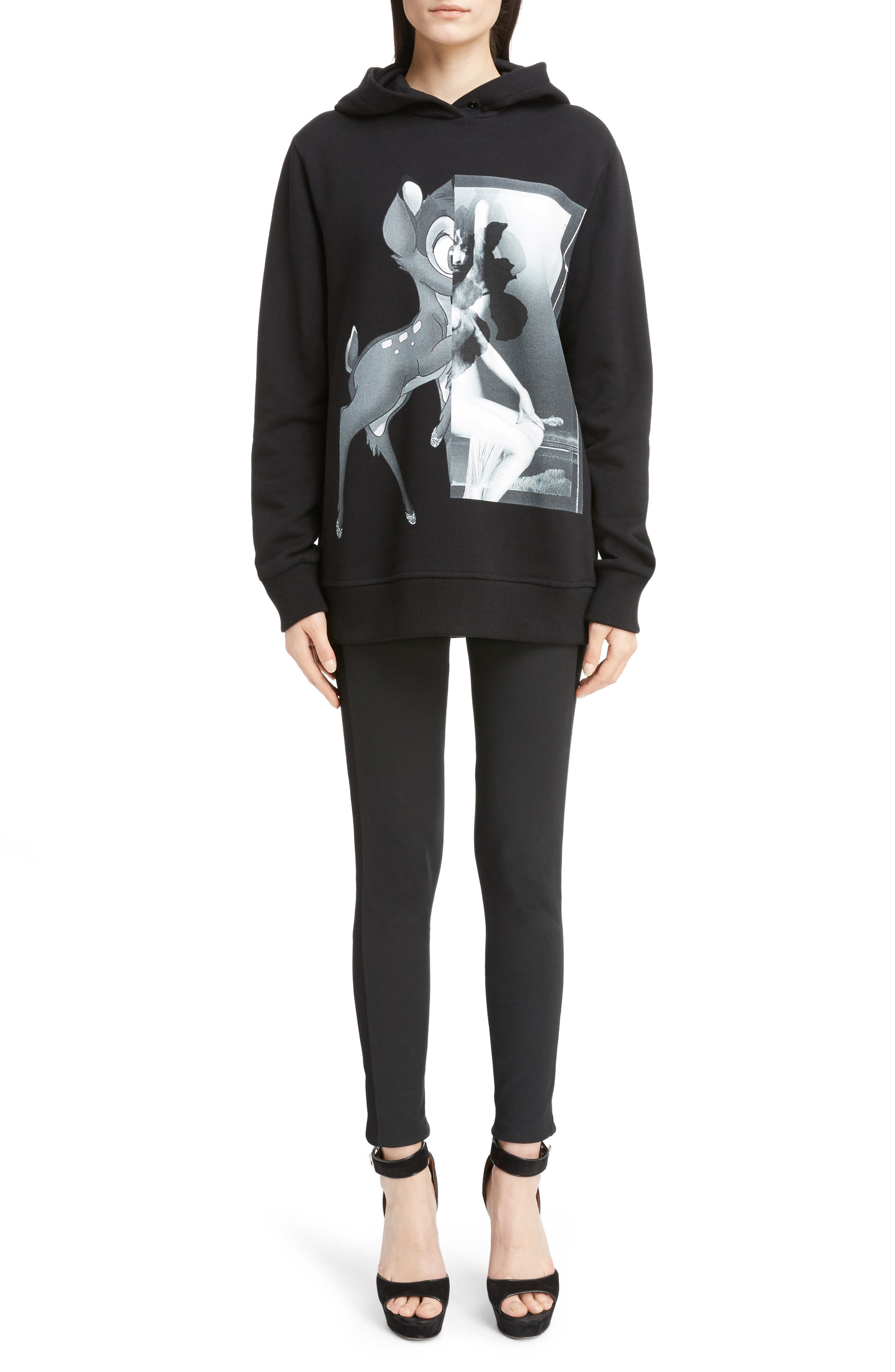 Alternate Image 6  - Givenchy Bambi Cotton Hoodie