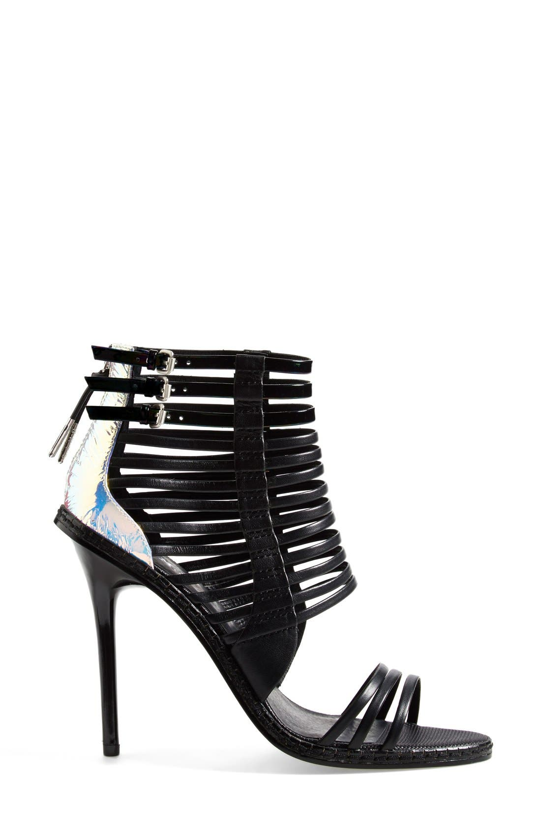 Alternate Image 4  - L.A.M.B. 'Brook' Leather Sandal (Women)