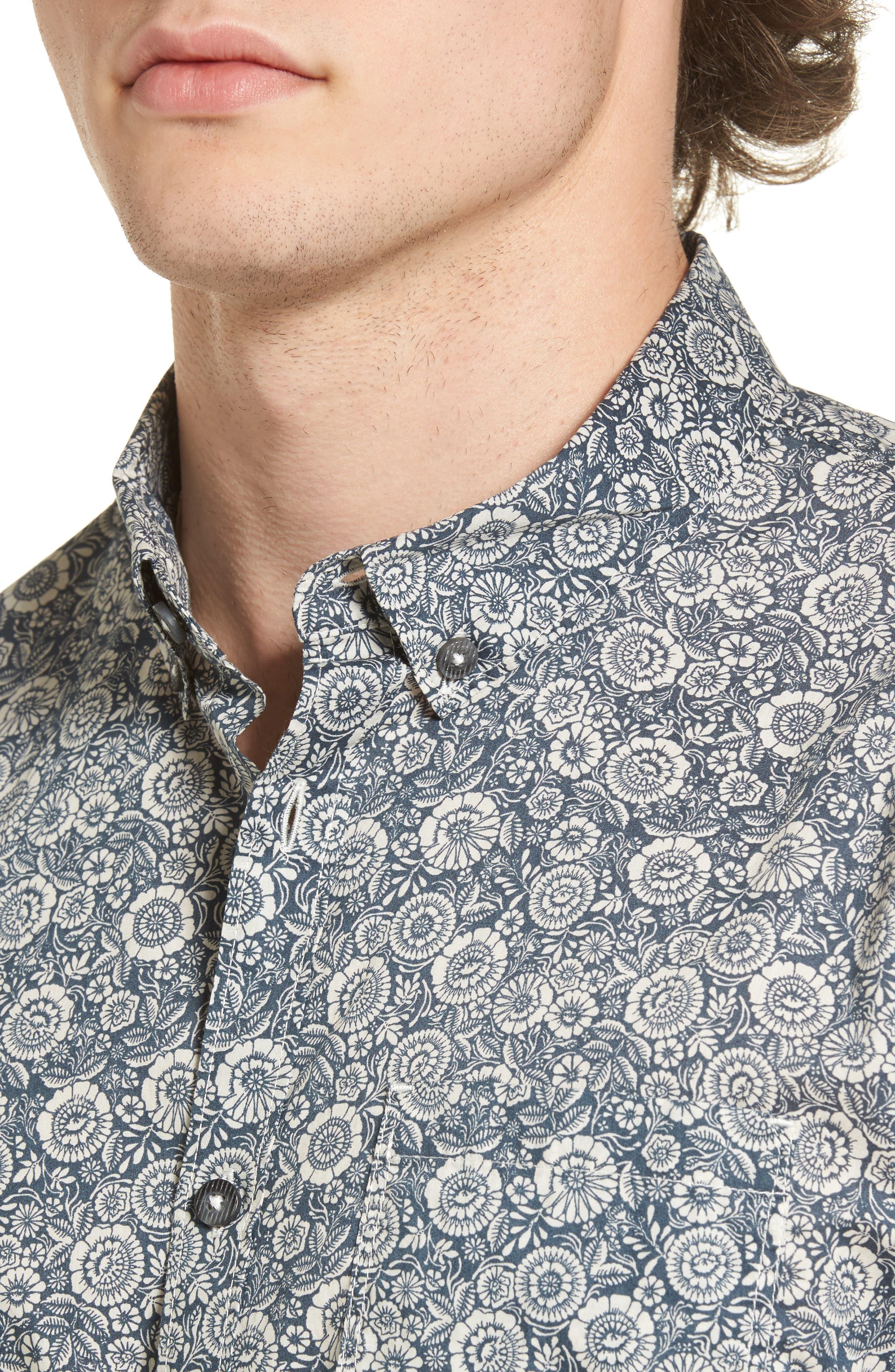 Alternate Image 4  - Billabong Sundays Mini Woven Shirt