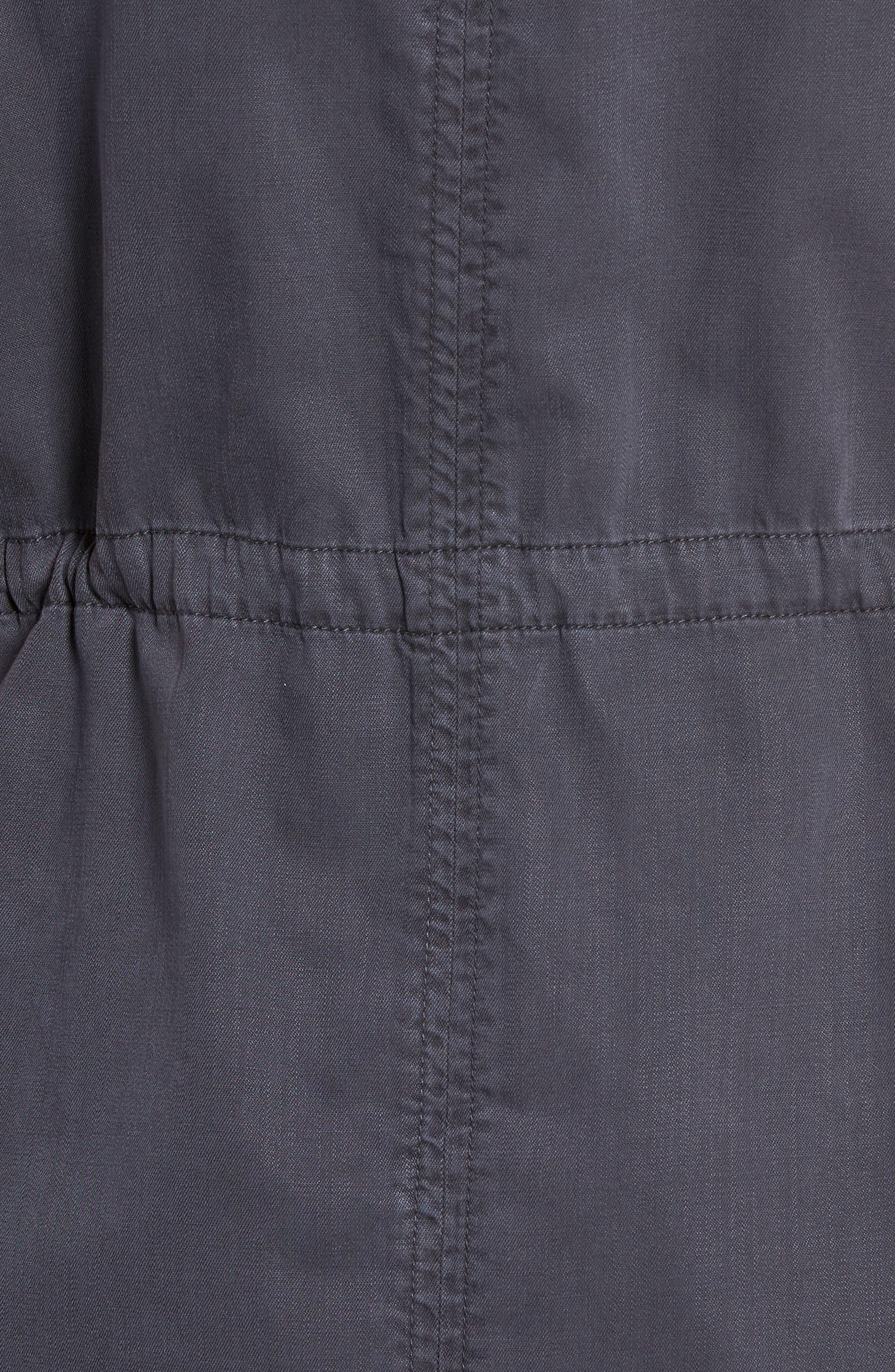 Utility Vest,                             Alternate thumbnail 6, color,                             Grey Ebony