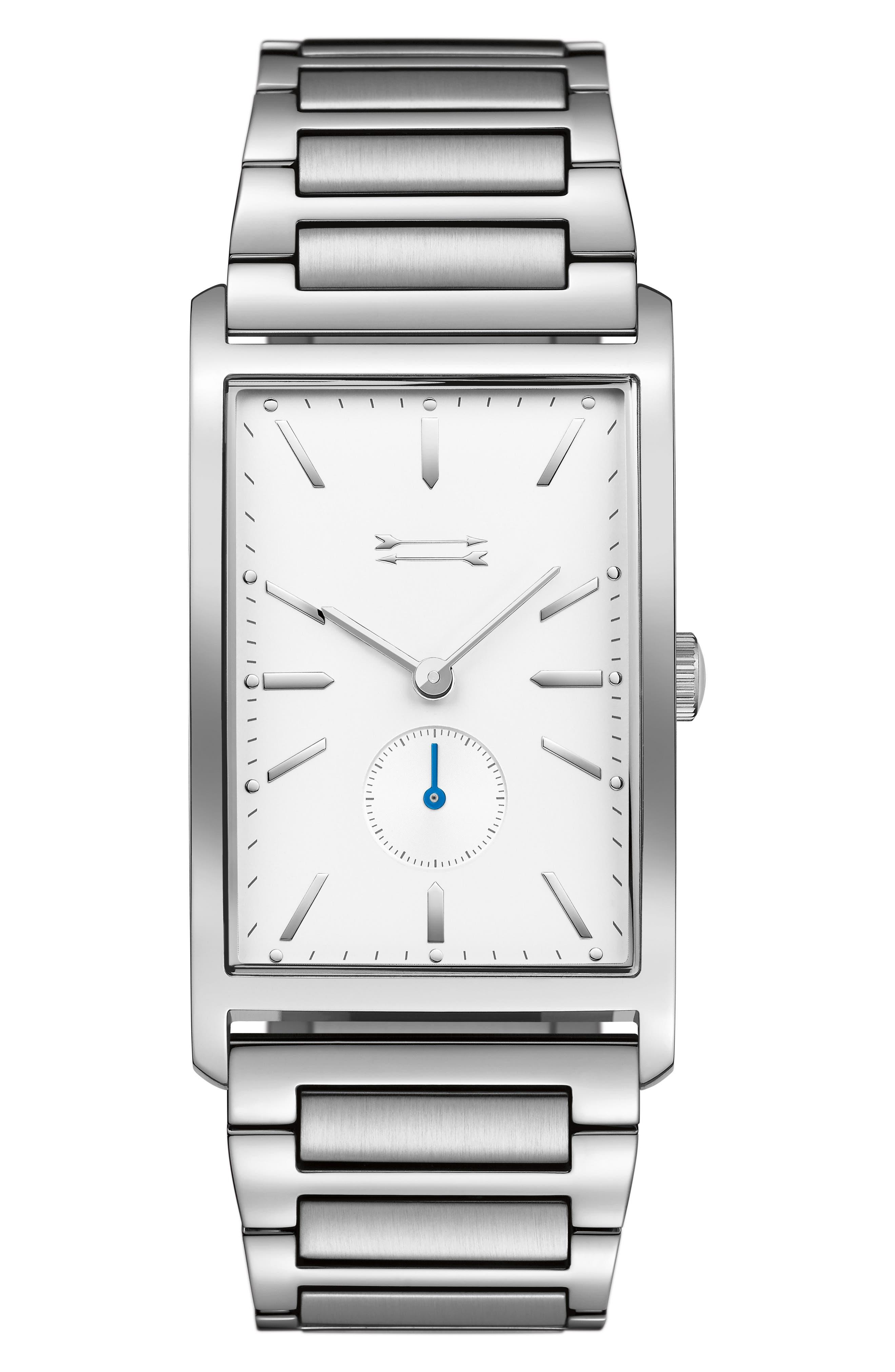 Pesaro Bracelet Watch, 28mm,                         Main,                         color, Silver