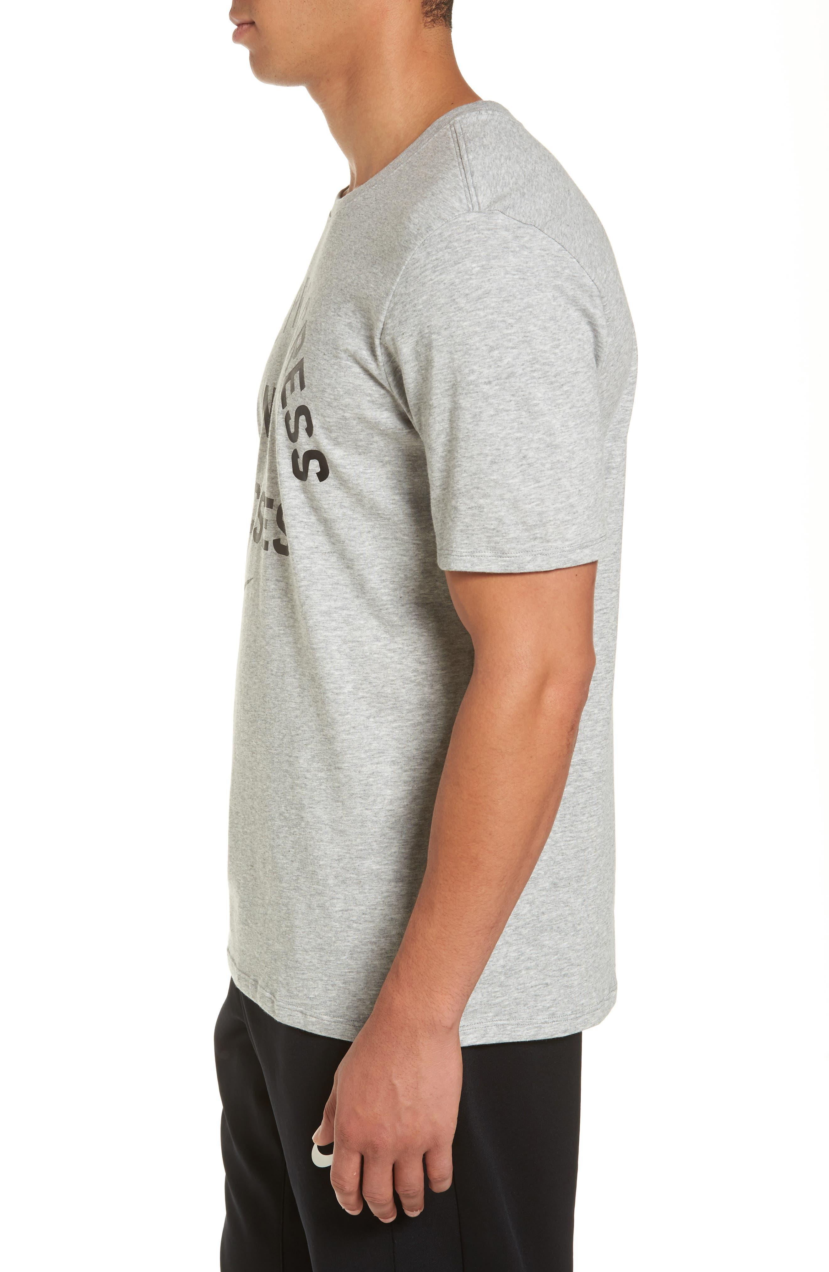 Alternate Image 3  - Nike Dry No Excuses Training T-Shirt