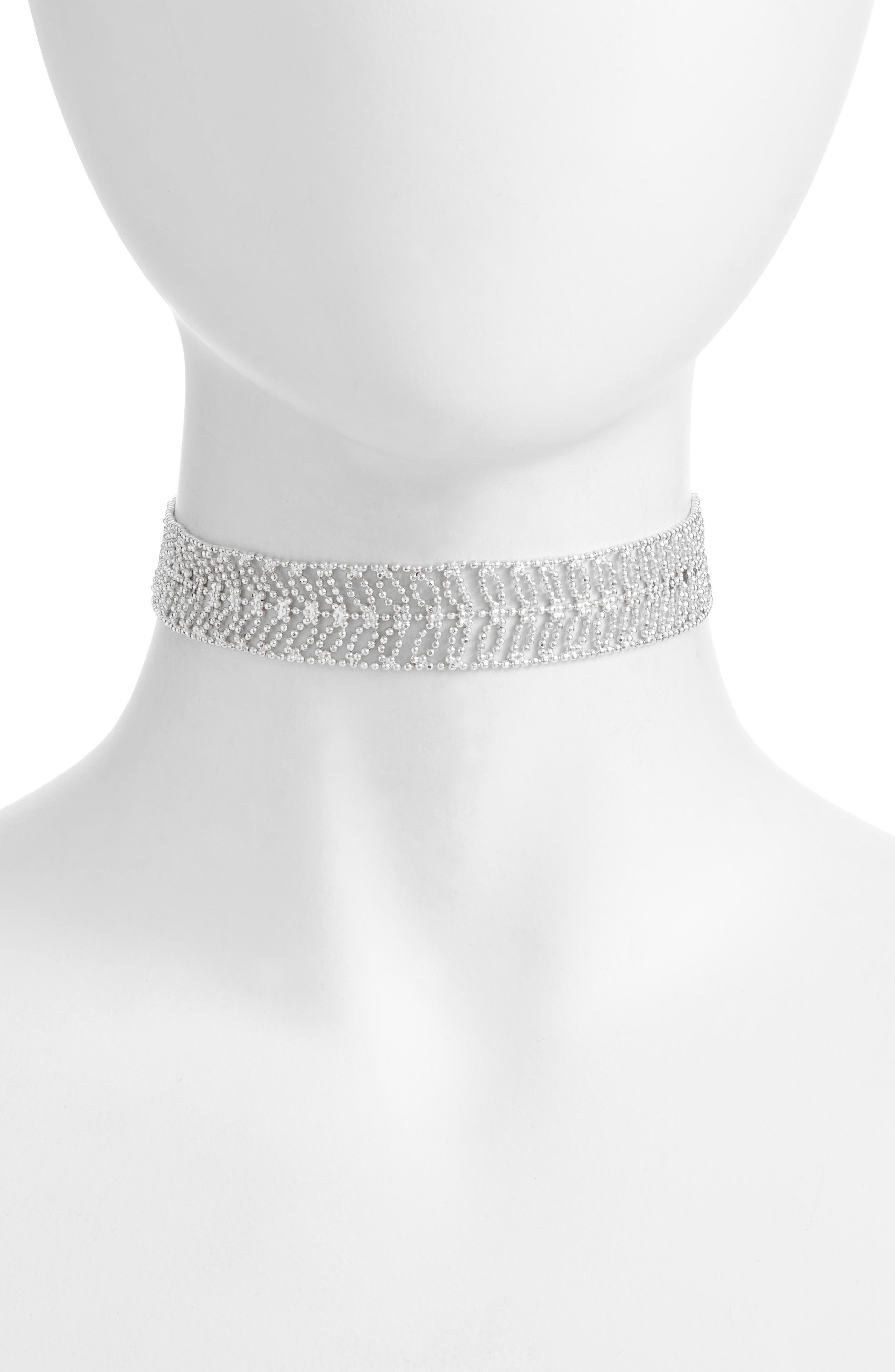 Alternate Image 1 Selected - Danielle Nicole Elm Choker Necklace