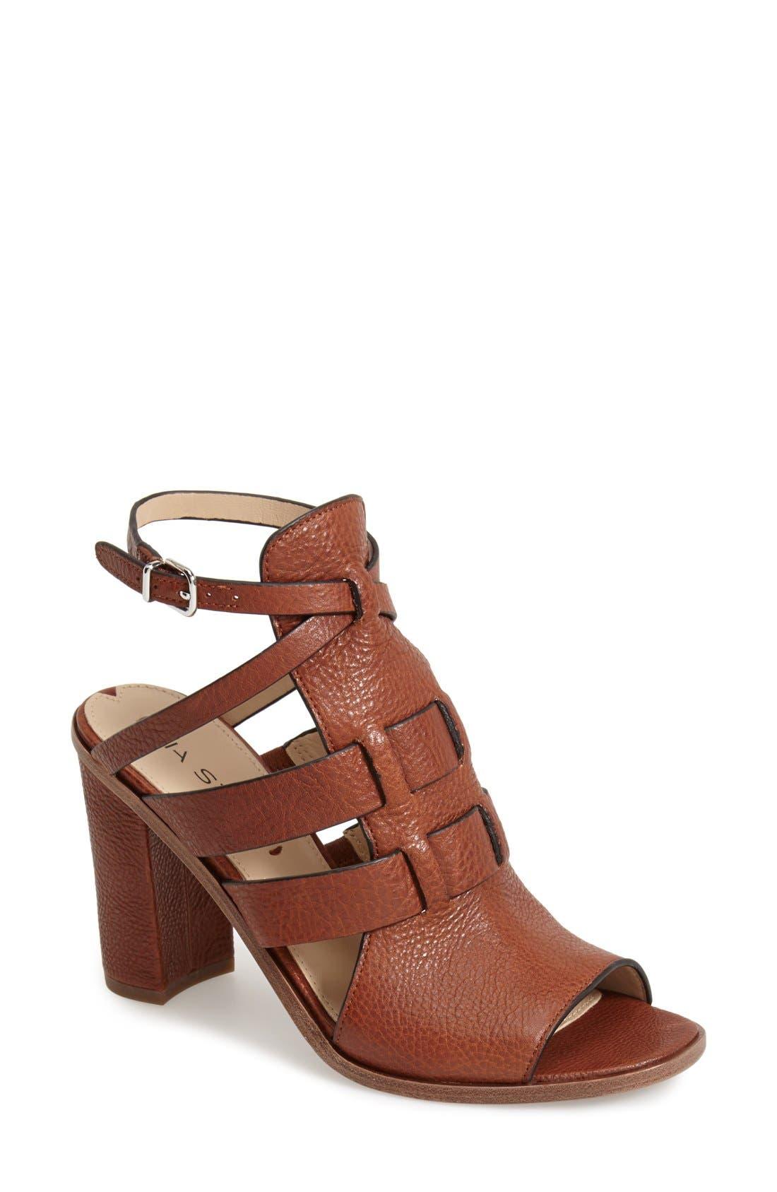 Alternate Image 1 Selected - Via Spiga 'Brandina' Leather Sandal (Women)