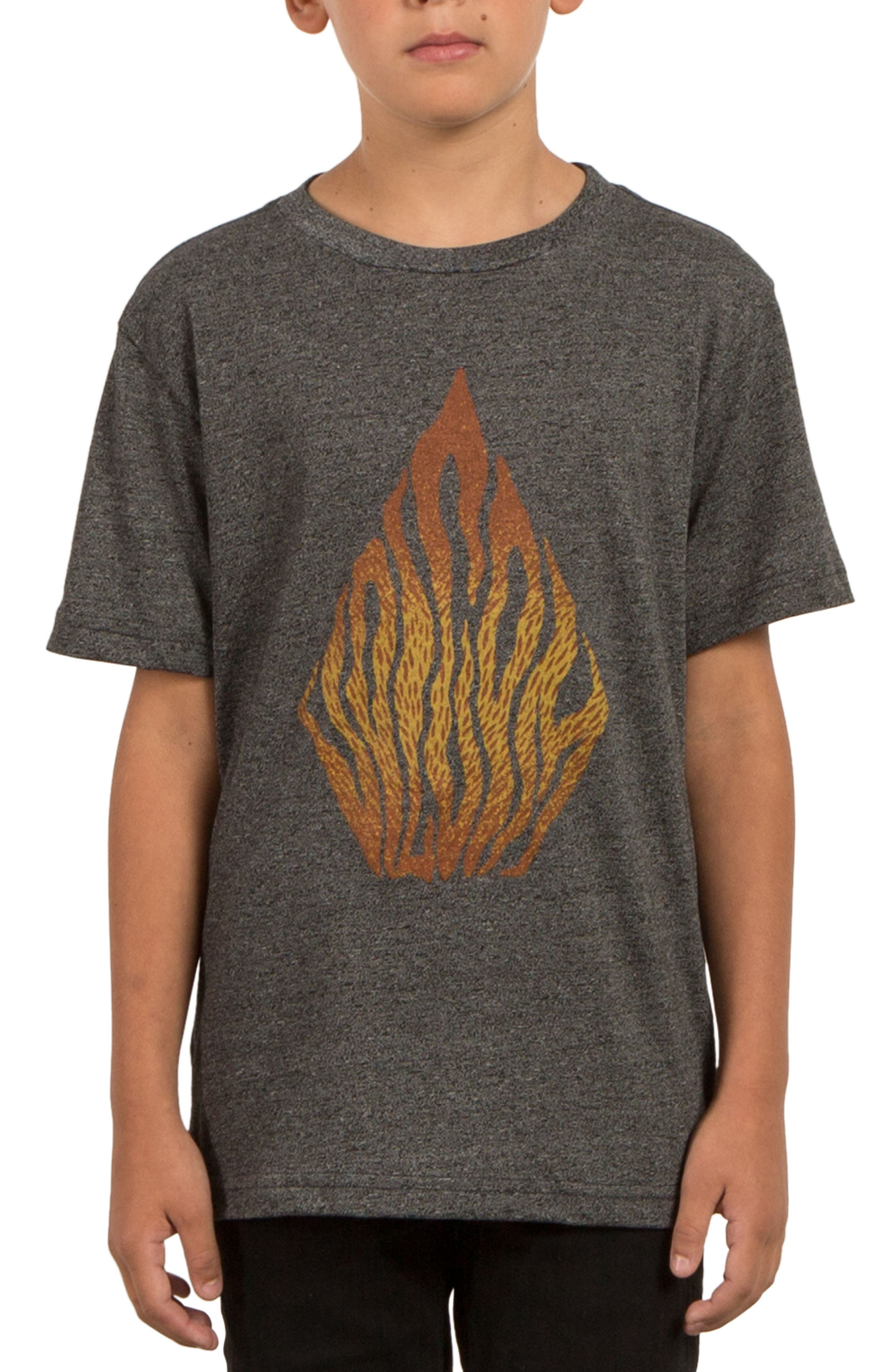 Alternate Image 1 Selected - Volcom Blooms Day Graphic T-Shirt (Big Boys)