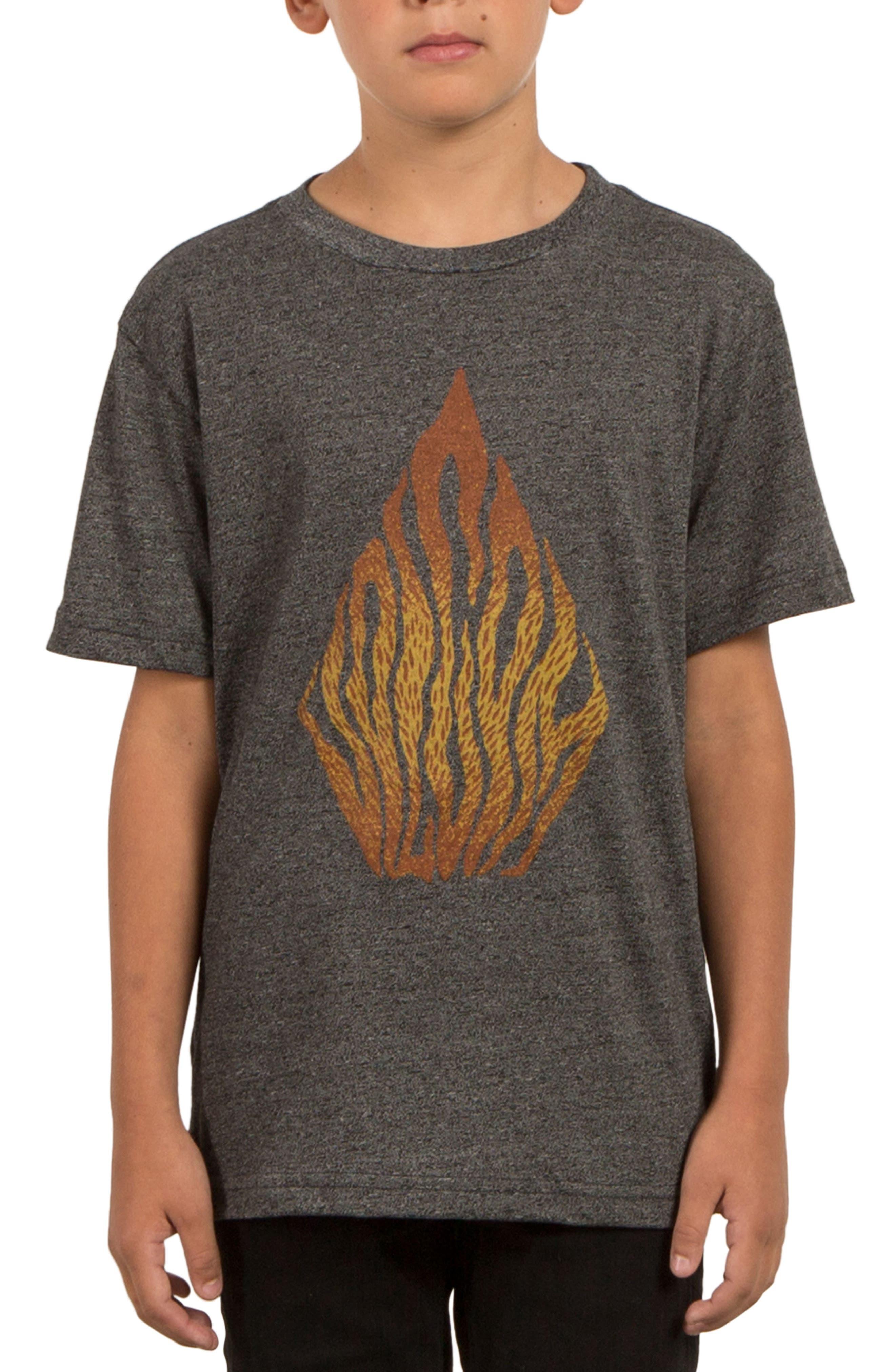 Main Image - Volcom Blooms Day Graphic T-Shirt (Big Boys)
