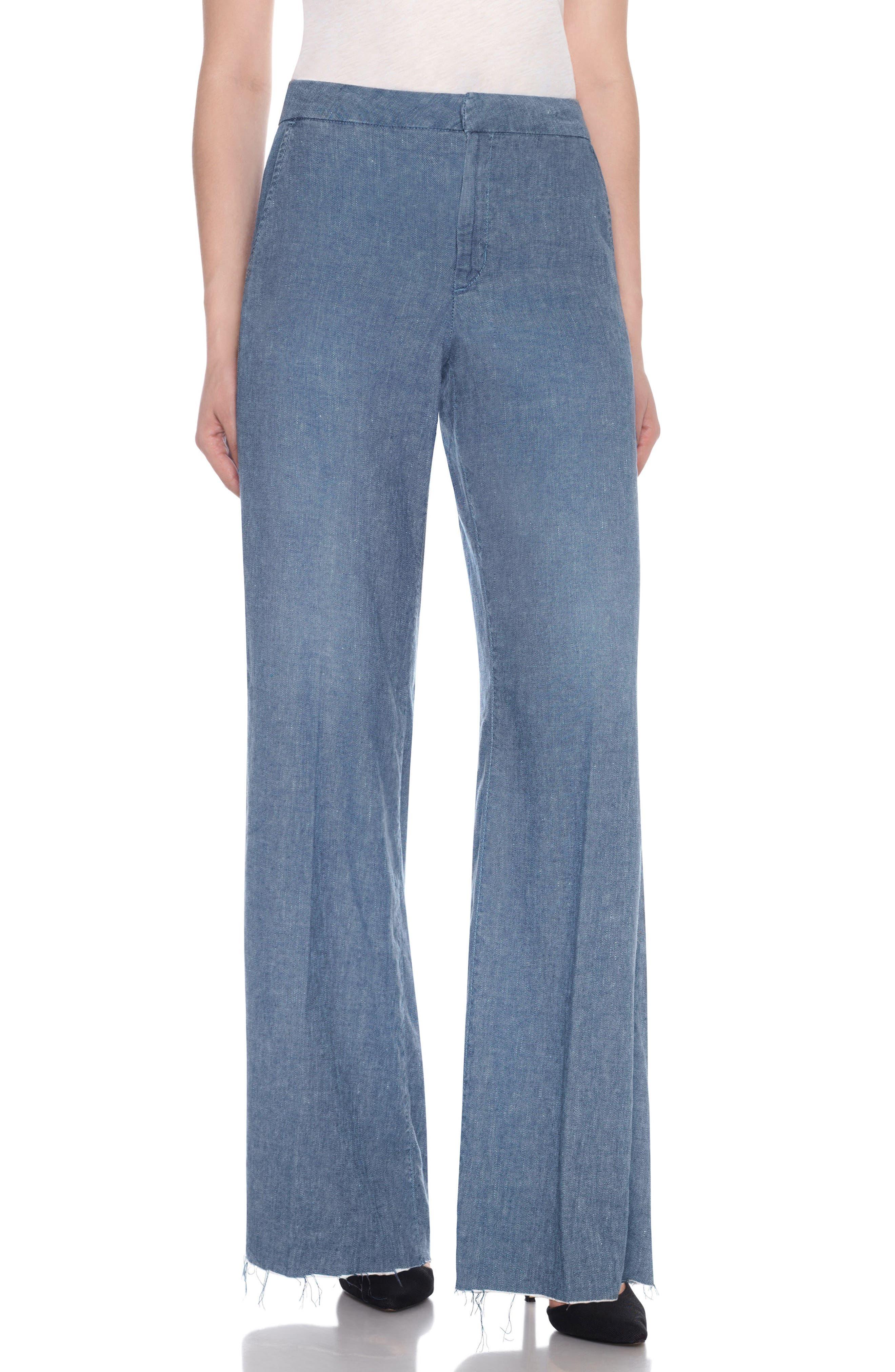 JOES Bessie High Waist Wide Leg Trousers