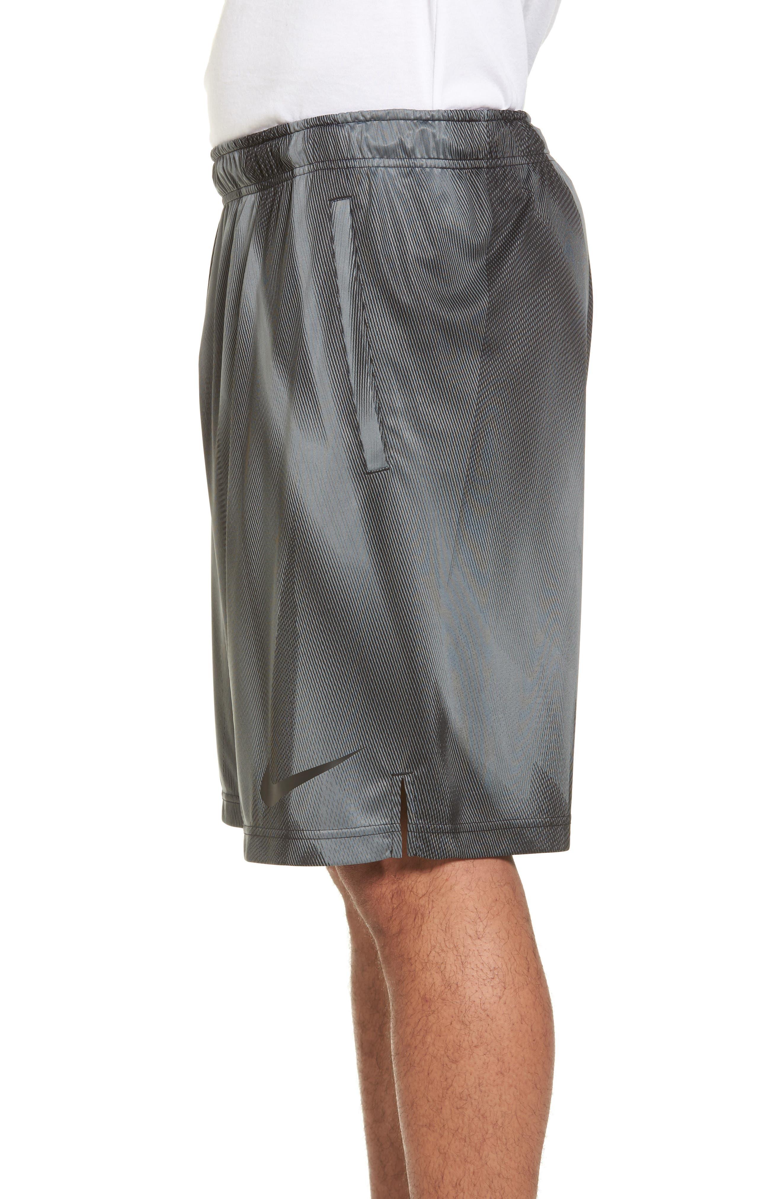 Dry Training Shorts,                             Alternate thumbnail 3, color,                             Black/ Black