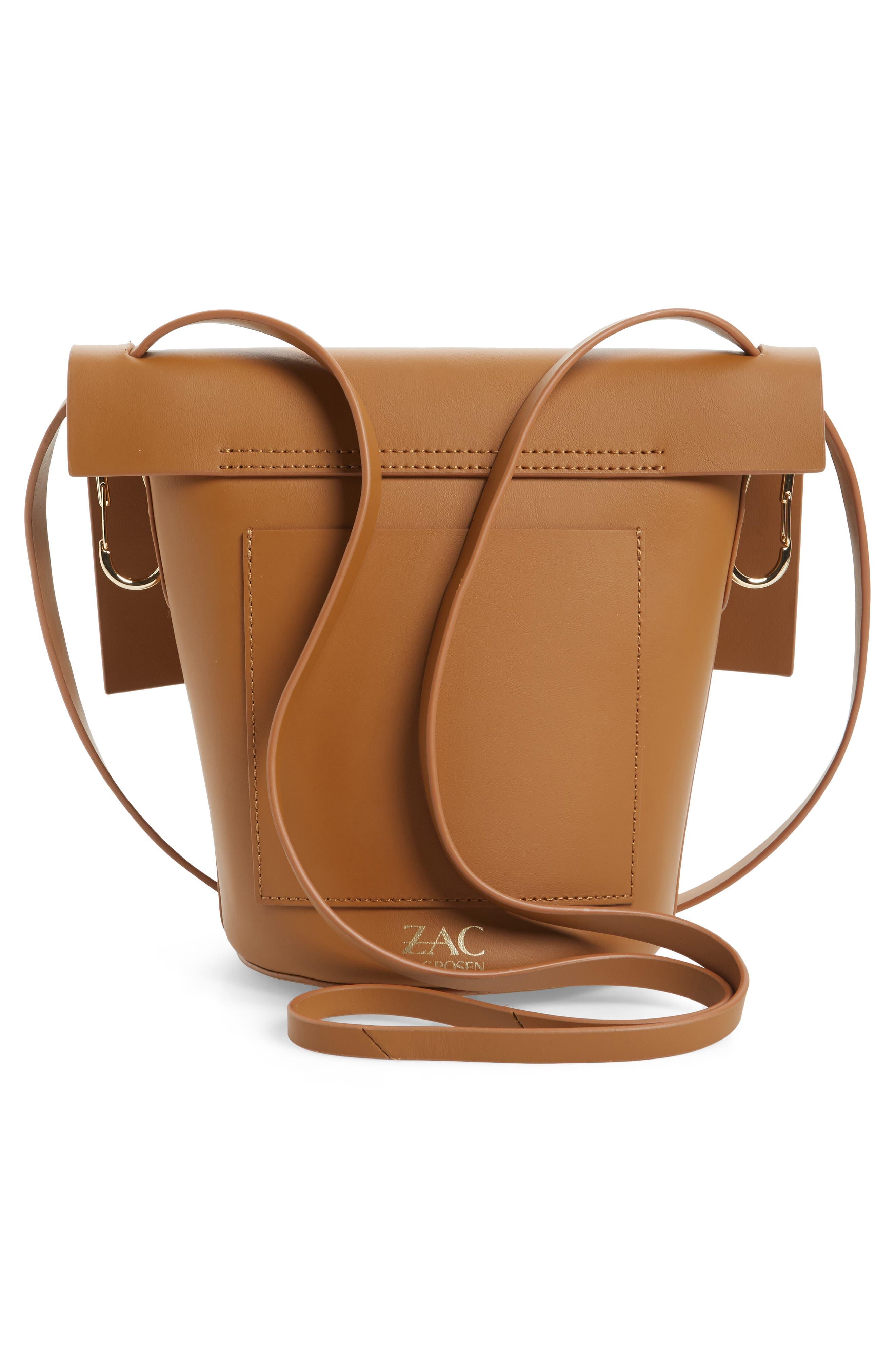 Alternate Image 2  - ZAC Zac Posen Belay Leather Crossbody Bag