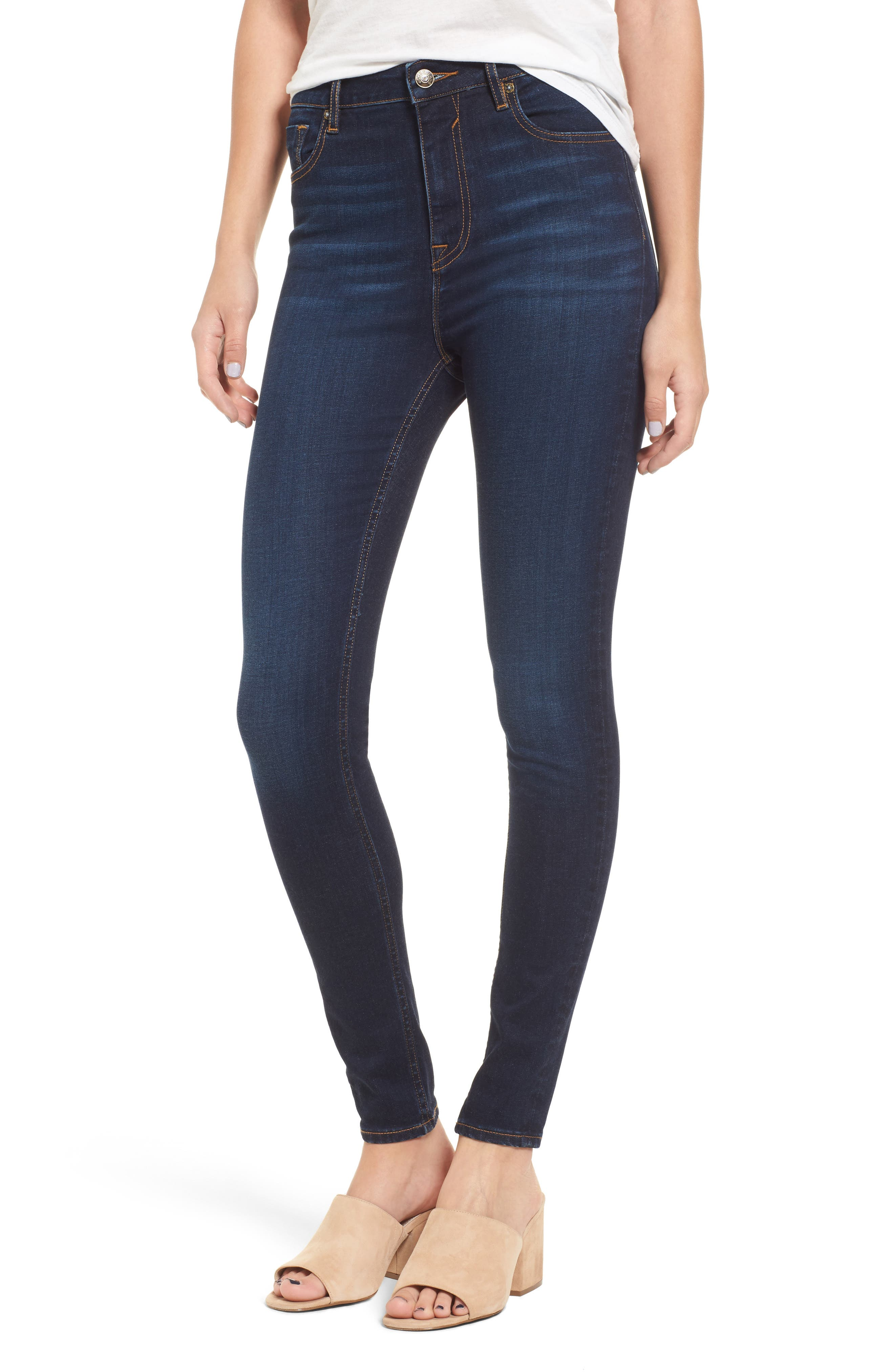 Alternate Image 1 Selected - Vigoss Rebel High Rise Skinny Jeans