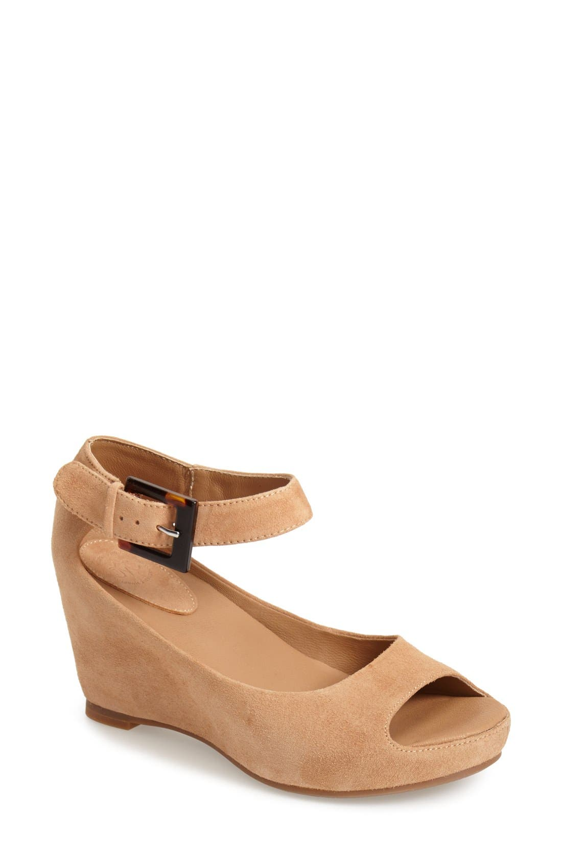 Alternate Image 1 Selected - Johnston & Murphy 'Tricia' Ankle Strap Sandal