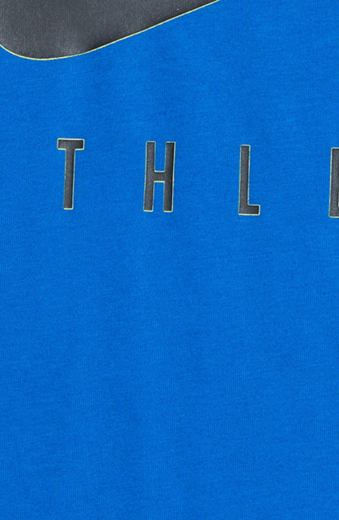 Nike Dry Swoosh Athlete T-Shirt (Little Boys & Big Boys) (Regular Retail Price: $25.00)