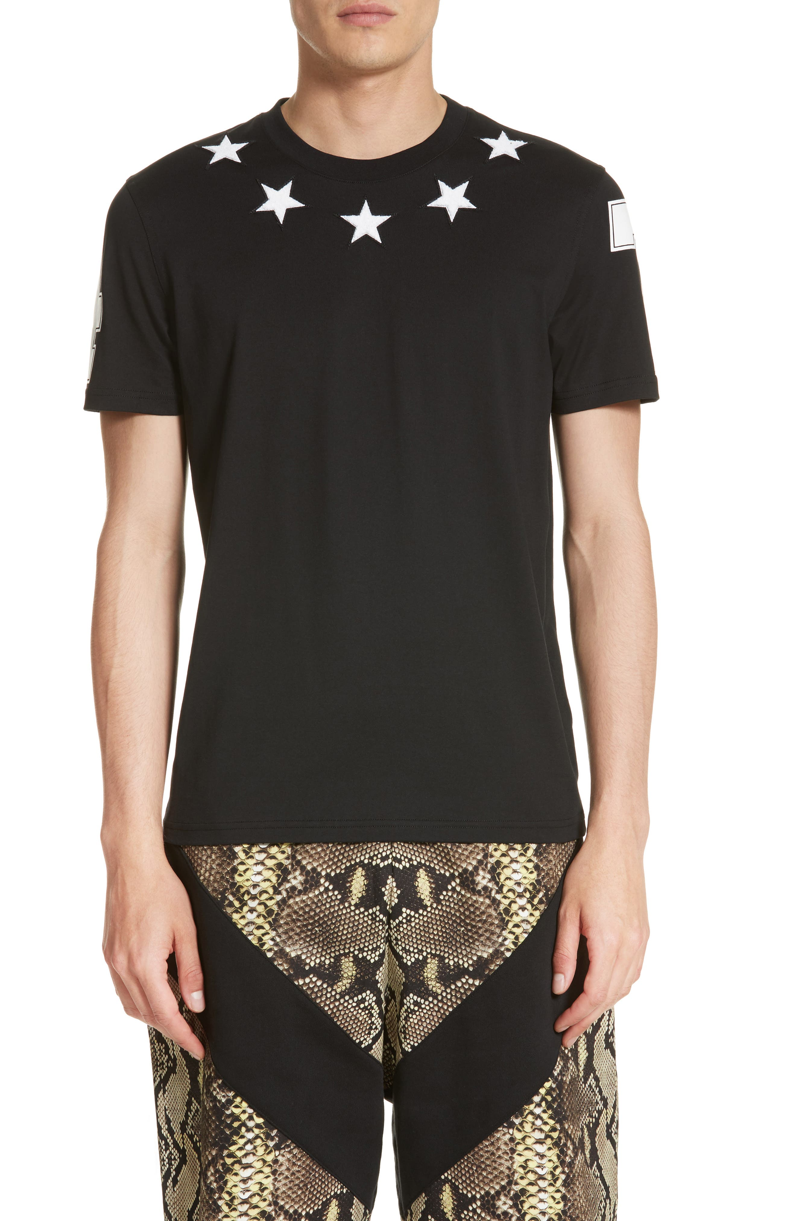 Givenchy Cuban Fit Star 74 T-Shirt