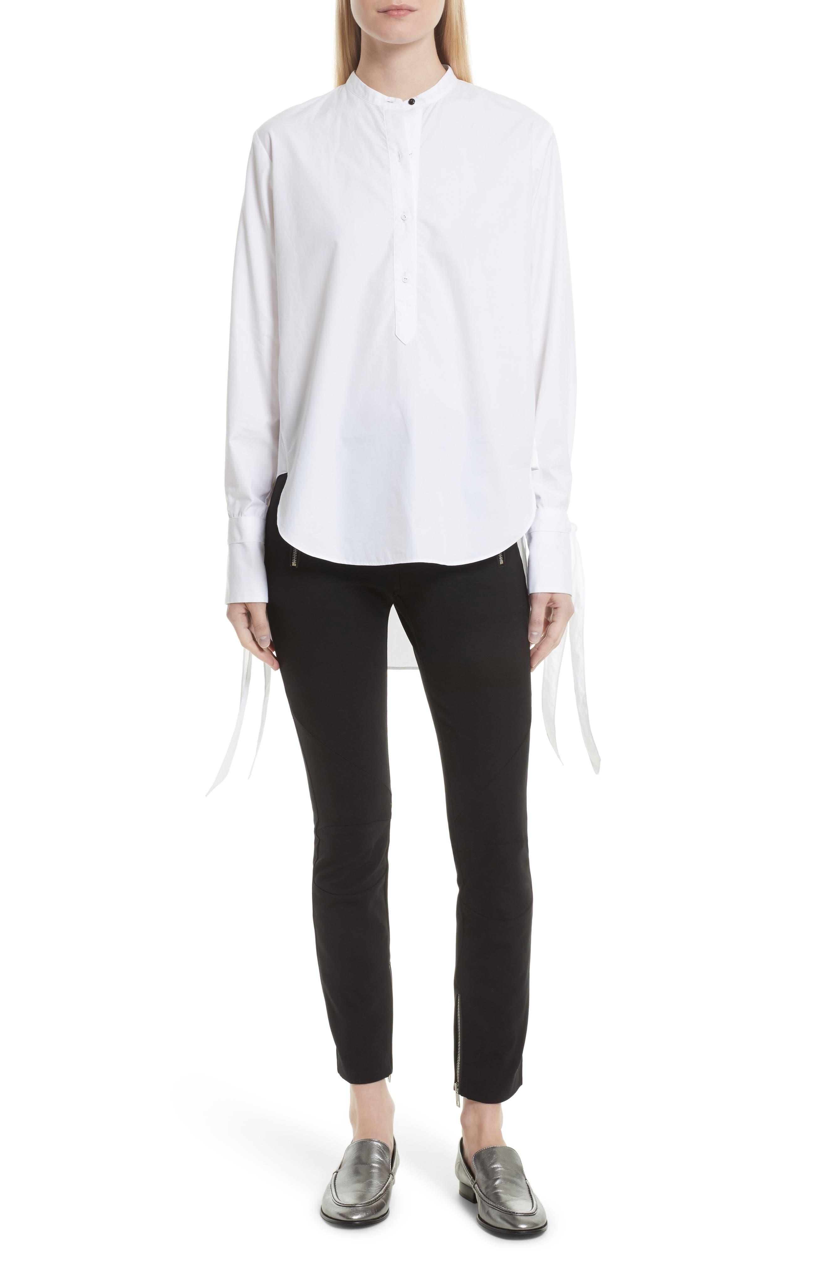 Dylan Cotton Shirt,                             Alternate thumbnail 2, color,                             White