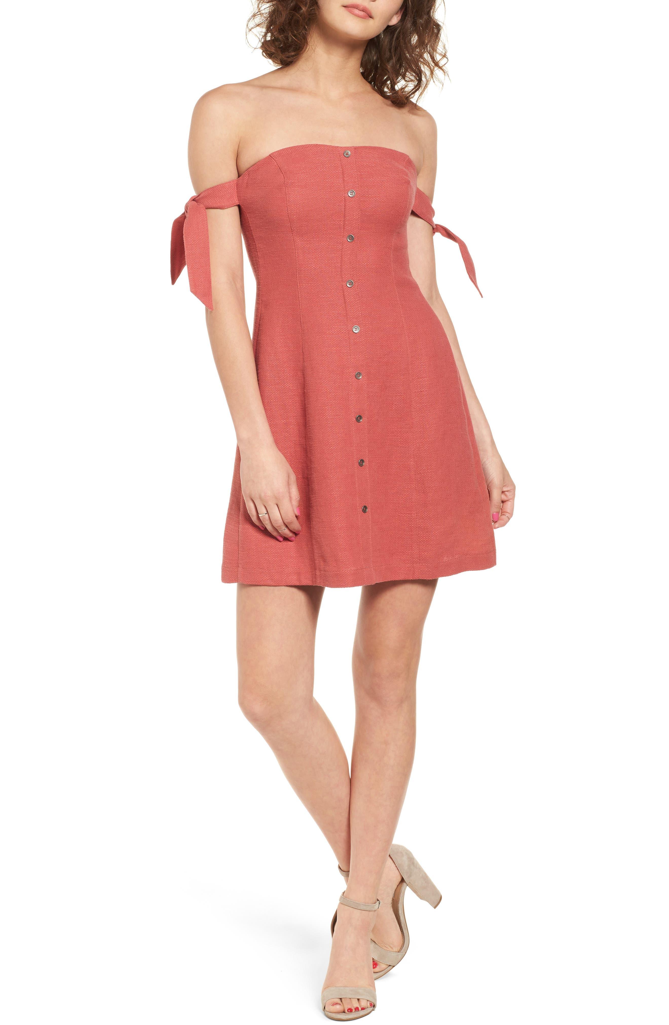 Main Image - ASTR the Label Araceli Minidress