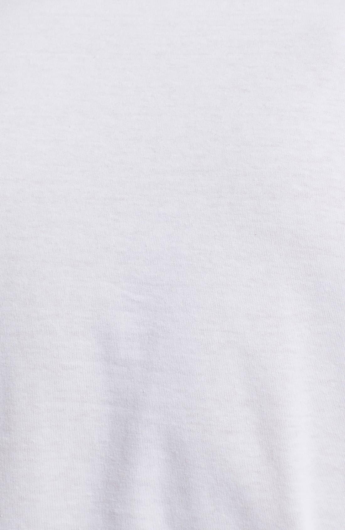 Comme des Garçons PLAY Heart Print T-Shirt,                             Alternate thumbnail 3, color,                             Green