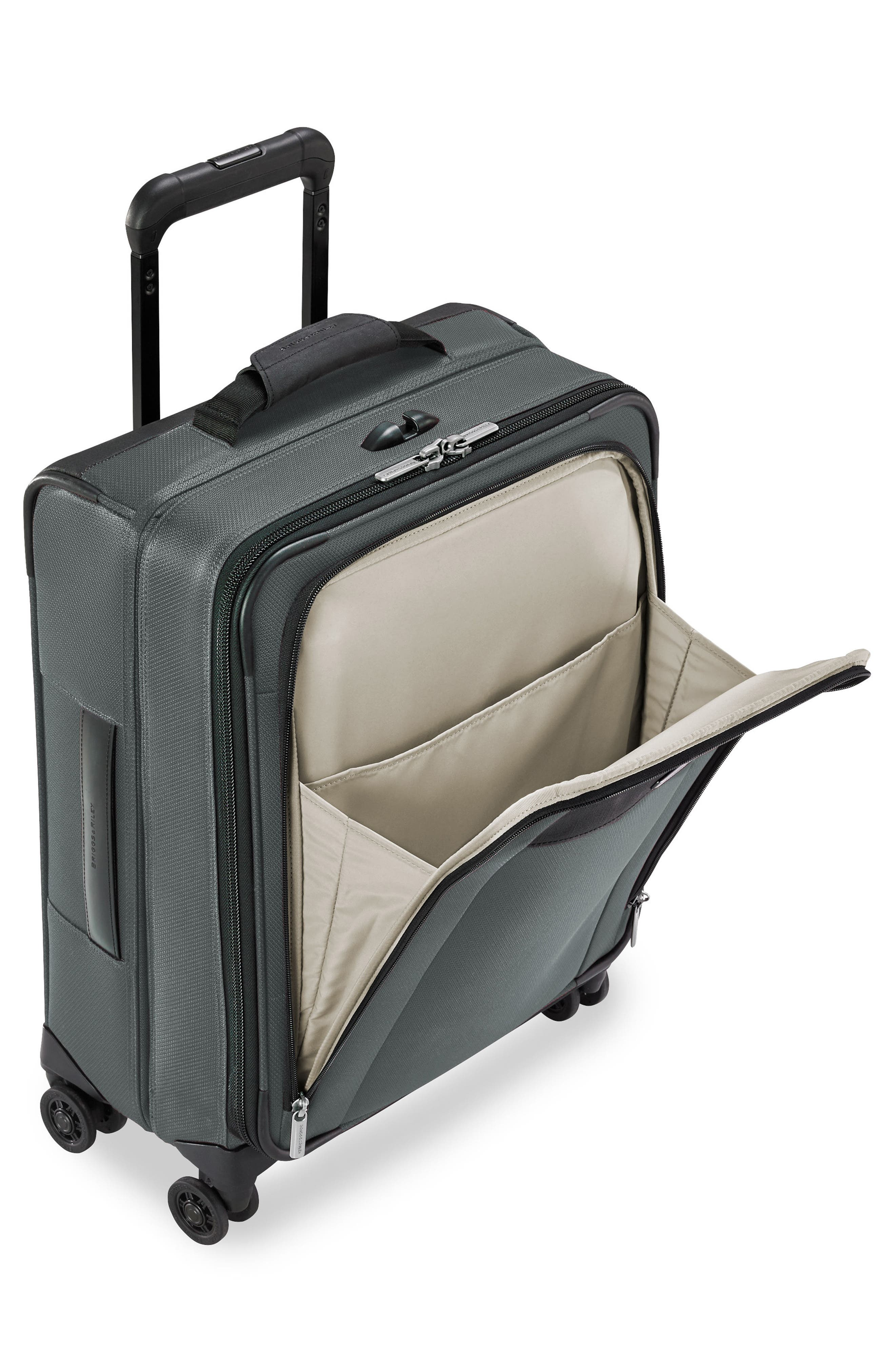 Alternate Image 4  - Briggs & Riley Transcend VX Wide Expandable 21-Inch Spinner Suitcase