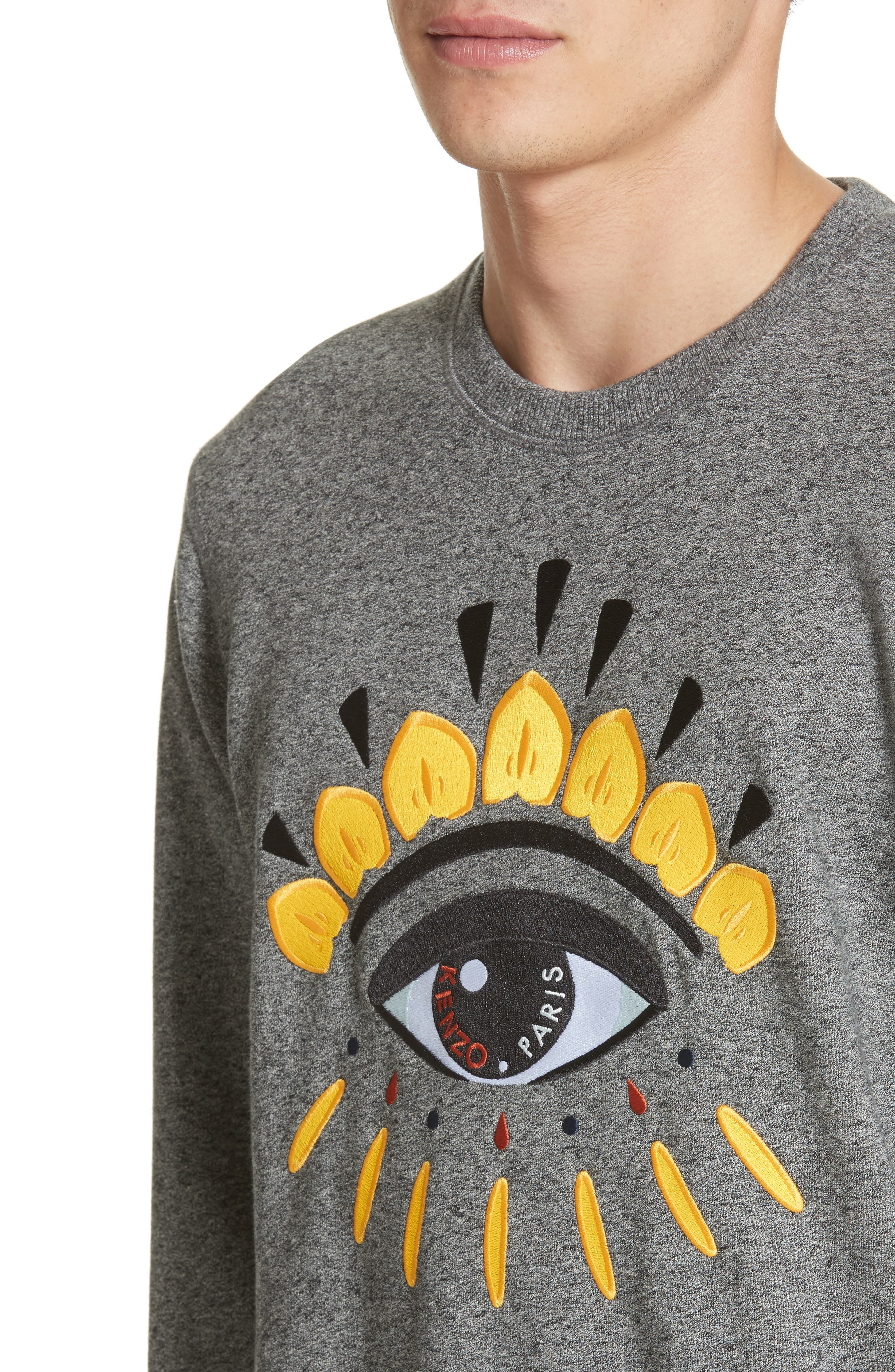 Alternate Image 4  - KENZO Eye Graphic Sweatshirt