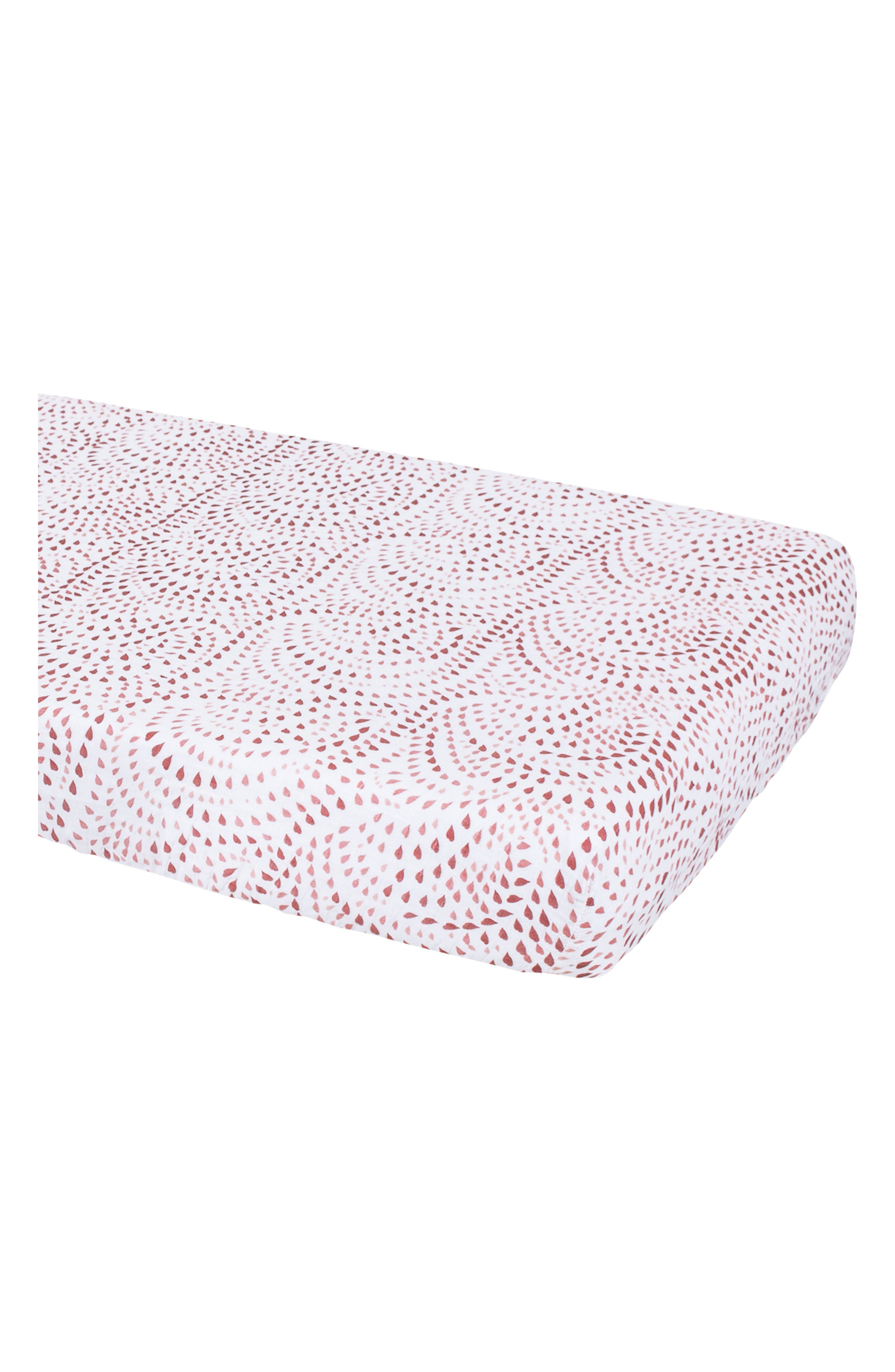 Alternate Image 2  - Bébé au Lait Muslin Crib Sheet