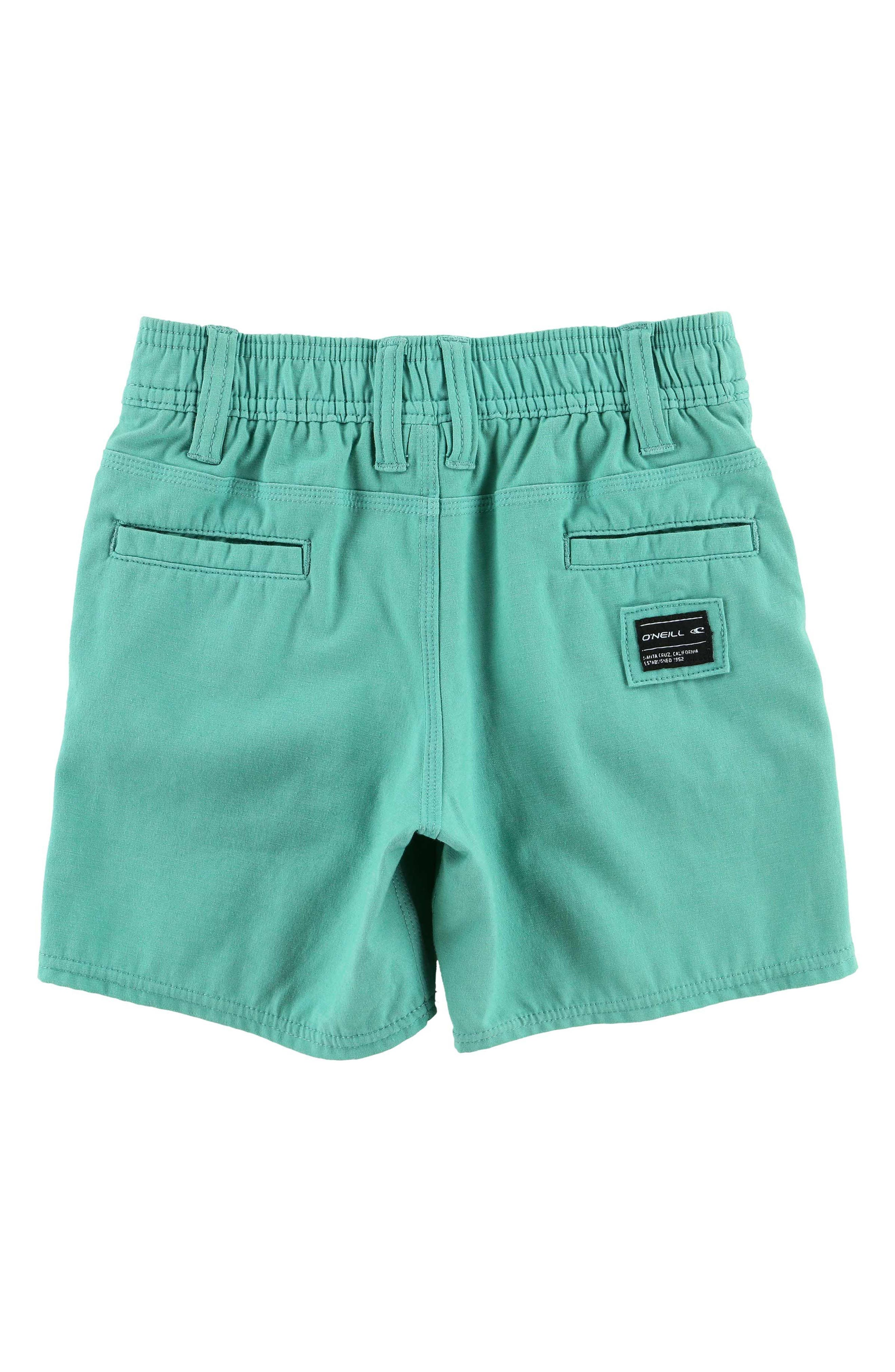 Locked Hybrid Board Shorts,                             Alternate thumbnail 2, color,                             Jade