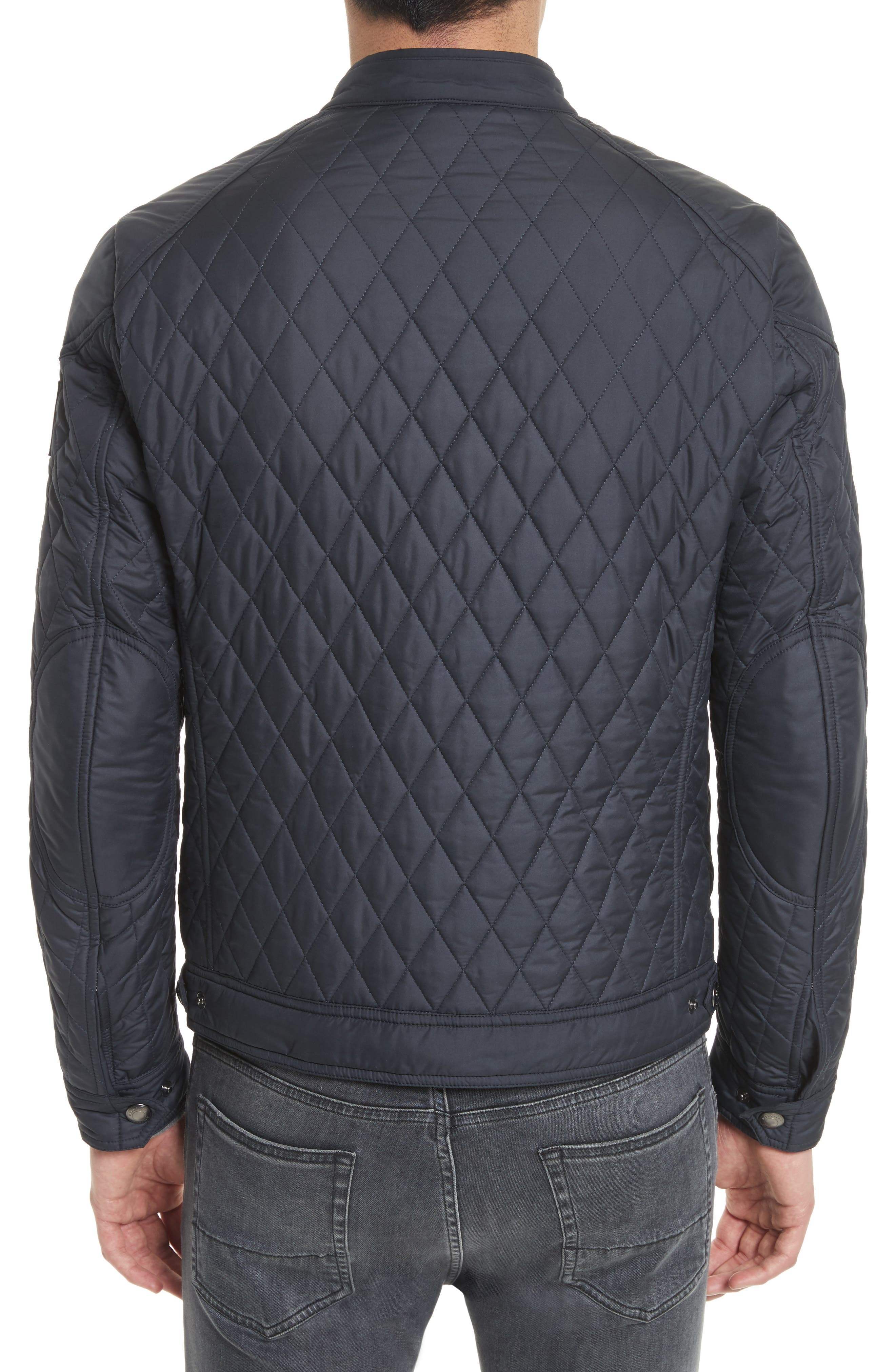 Bramley 2.0 Quilted Jacket,                             Alternate thumbnail 2, color,                             Dark Navy