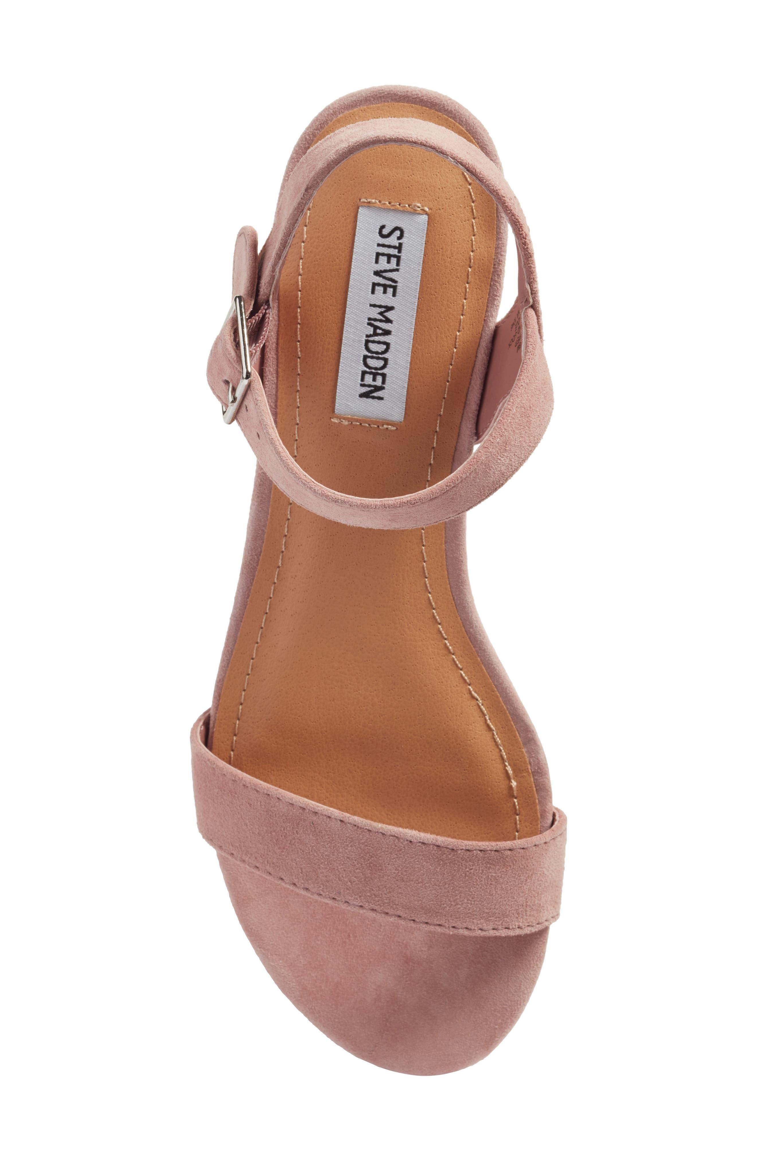 Alternate Image 5  - Steve Madden Embellished Sandal (Women)