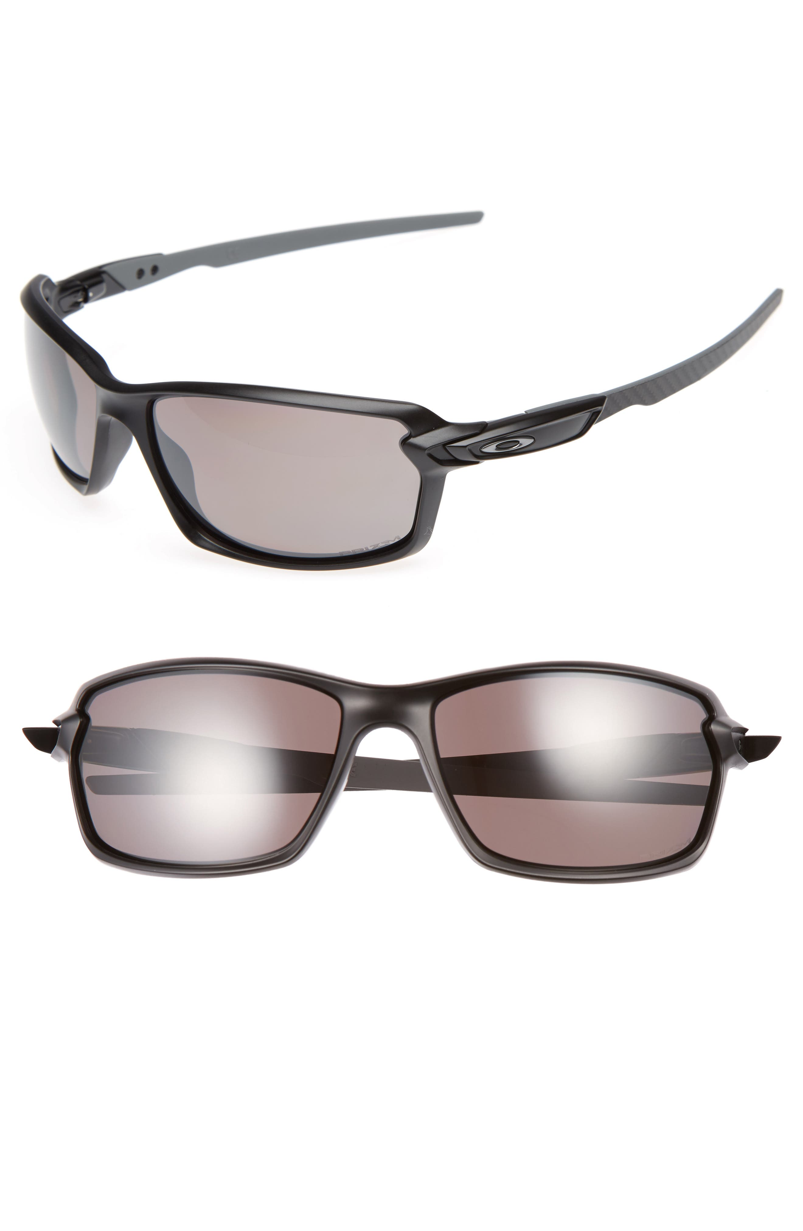 OAKLEY Carbon Shift 64mm Polarized O Matter<sup>®</sup> Wrap Sunglasses