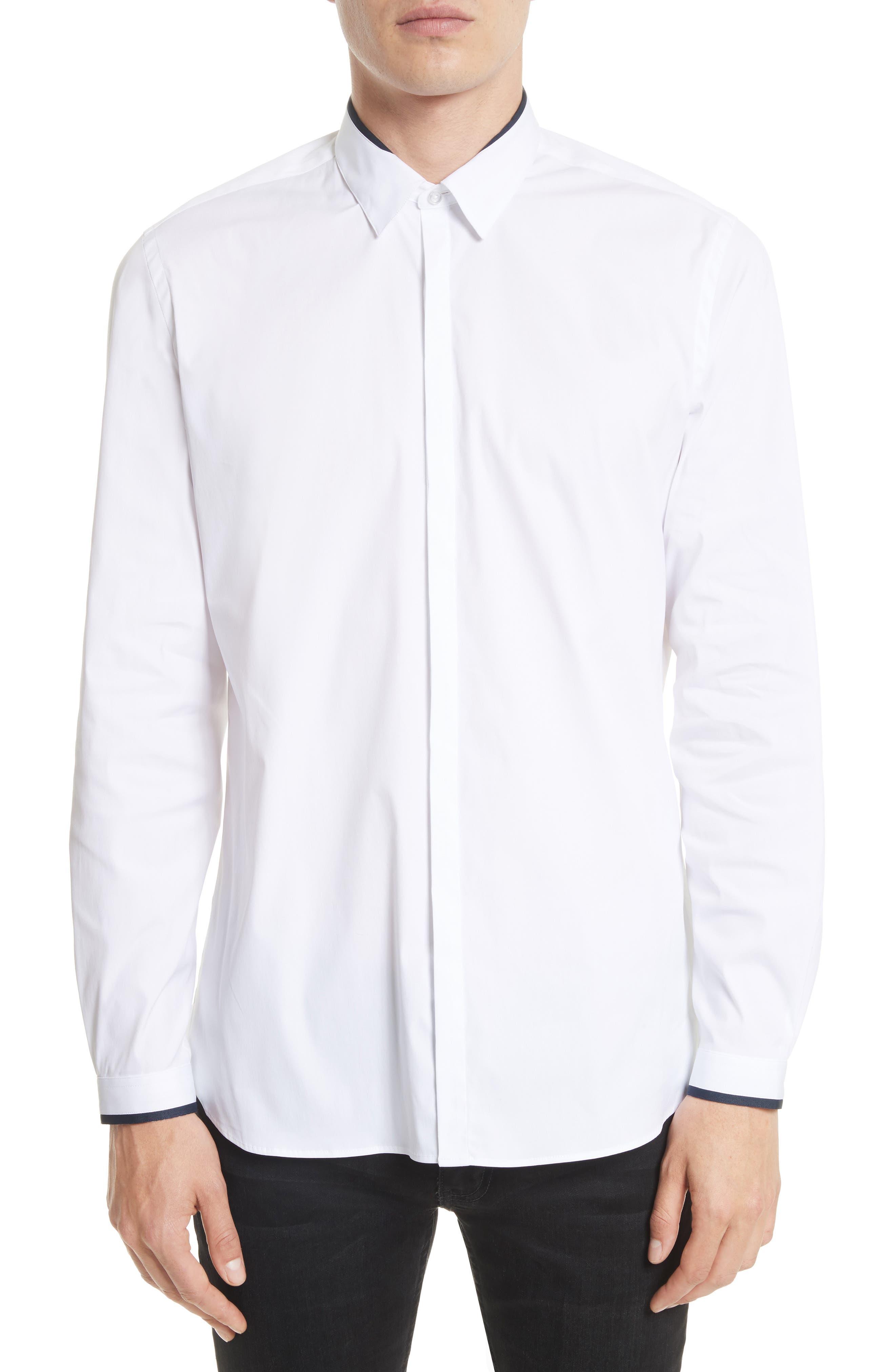 The Kooples Grosgrain Trim Sport Shirt