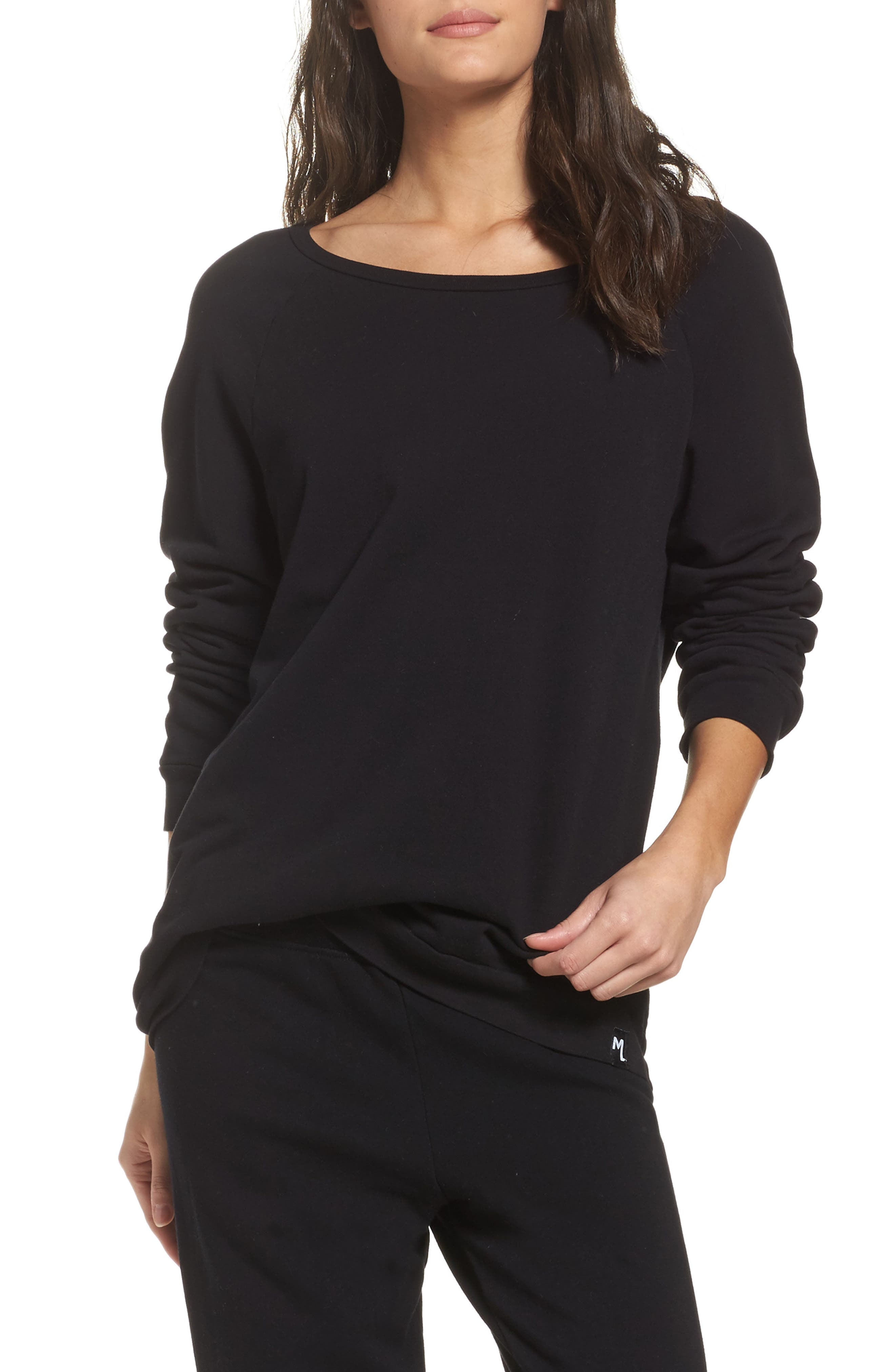 Oswald Pullover,                             Main thumbnail 1, color,                             Black