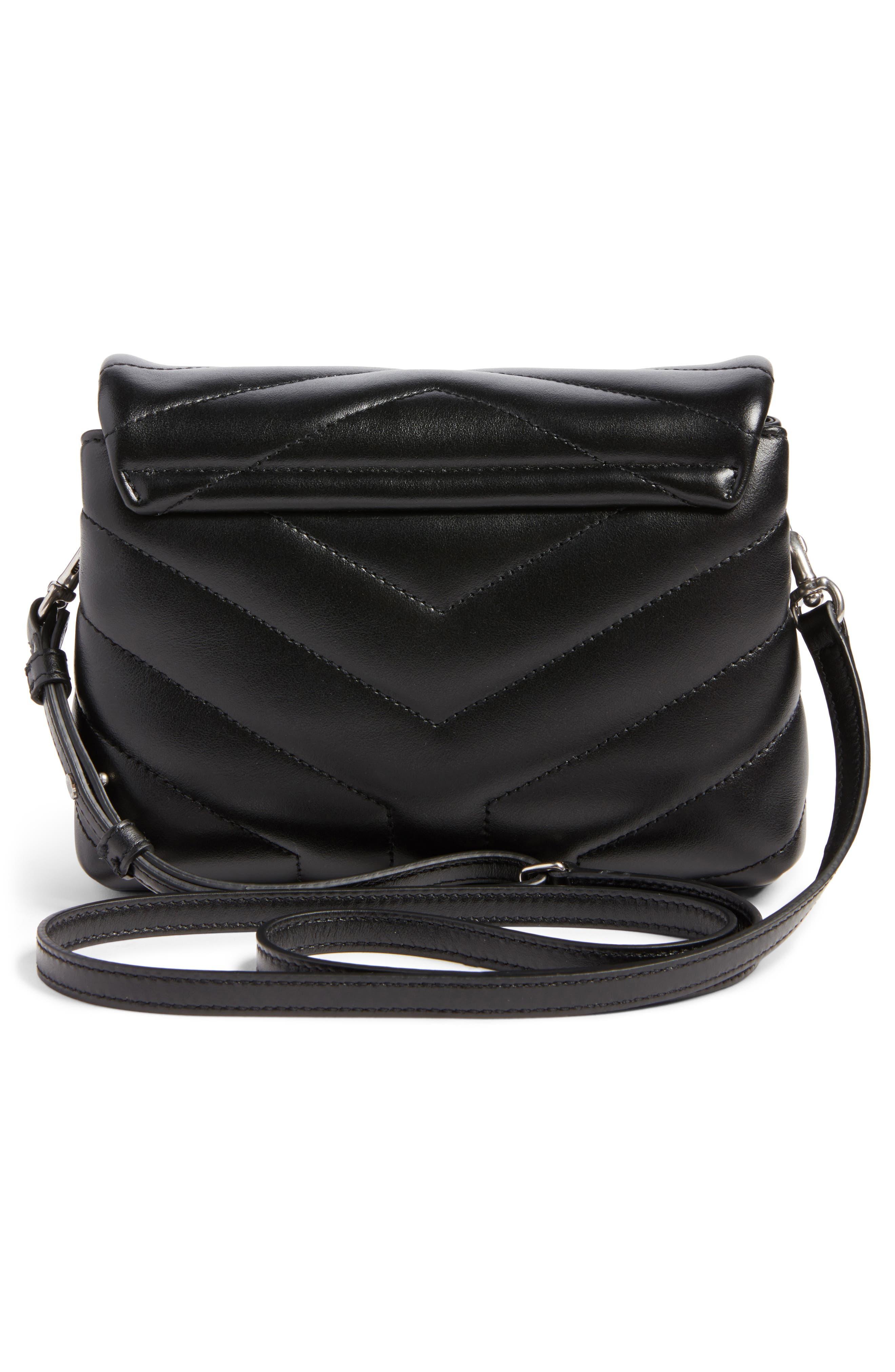 Alternate Image 3  - Saint Laurent Toy LouLou Calfskin Leather Crossbody Bag
