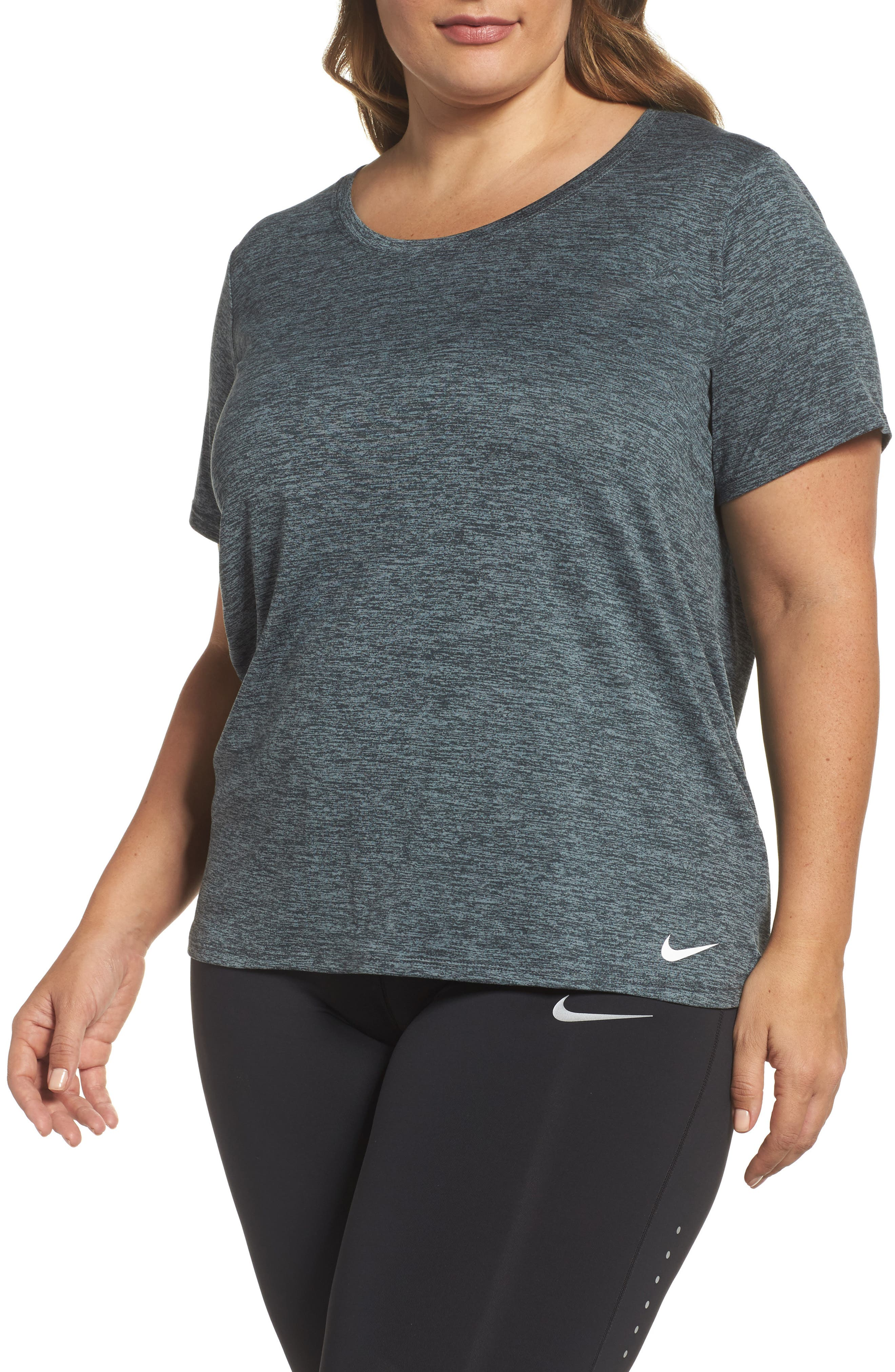 Alternate Image 1 Selected - Nike Dry Legend Training Tee (Plus Size)