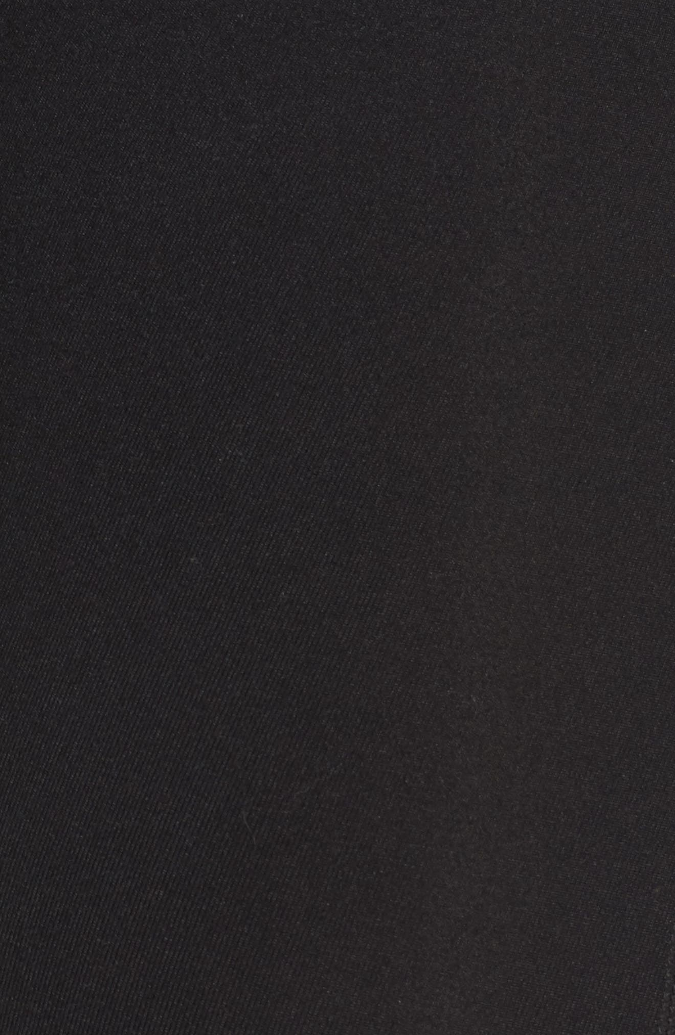 Moonlight High Waist Midi Leggings,                             Alternate thumbnail 5, color,                             Black