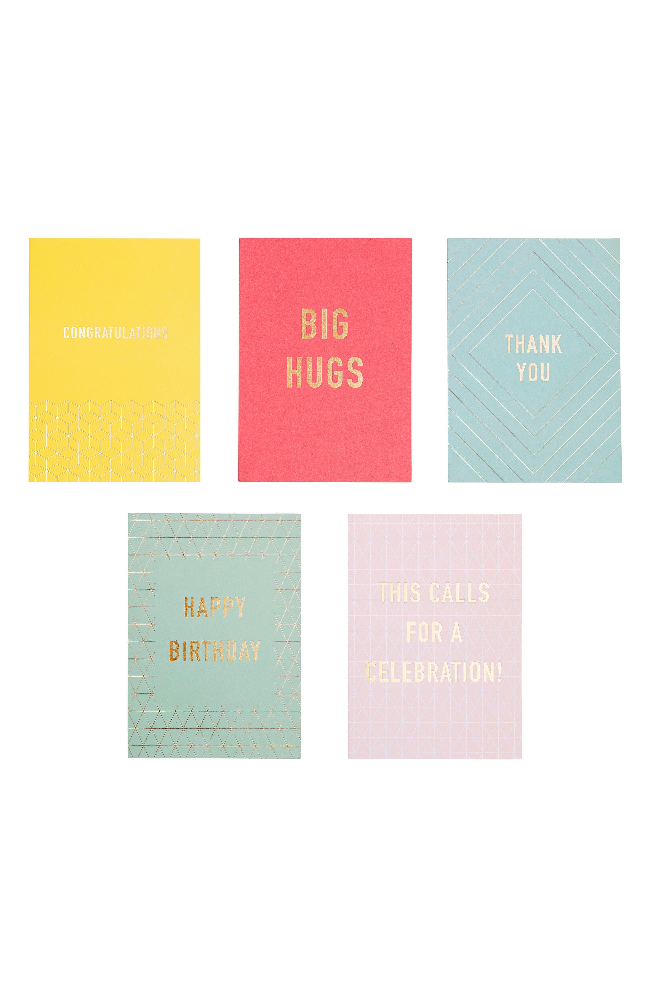 kikki.K 10-Pack Inspirational Greeting Cards