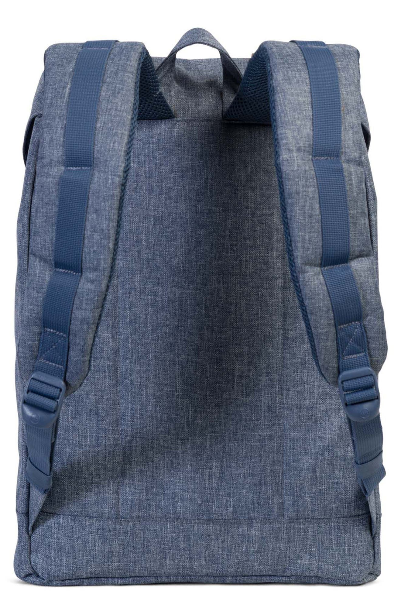 'Retreat' Backpack,                             Alternate thumbnail 2, color,                             Dark Chambray Cross Hatch