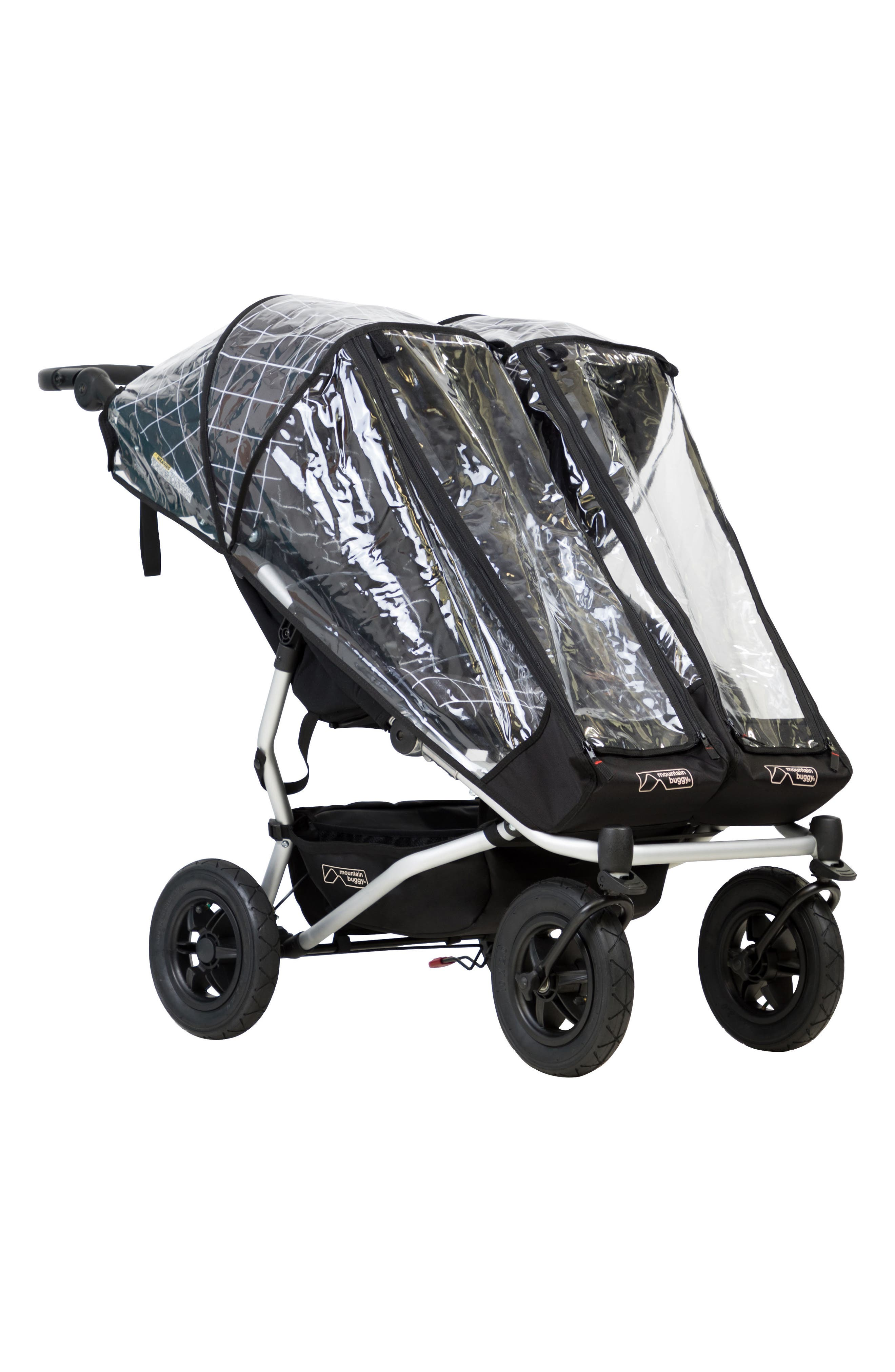 Alternate Image 1 Selected - mountain buggy Duet Double Mesh Stroller Cover