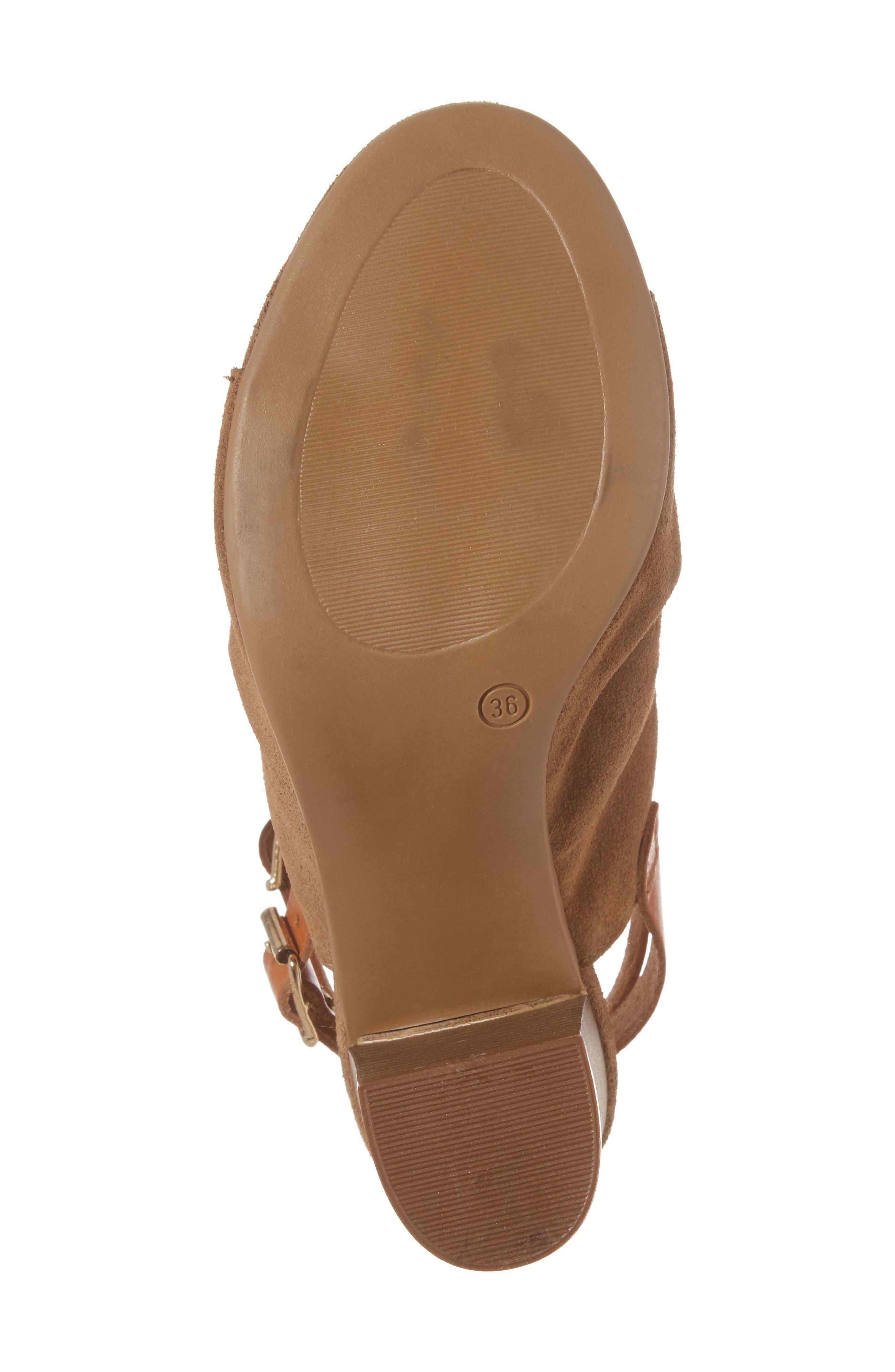 Alternate Image 6  - Bos. & Co. Ivy Block Heel Sandal (Women)
