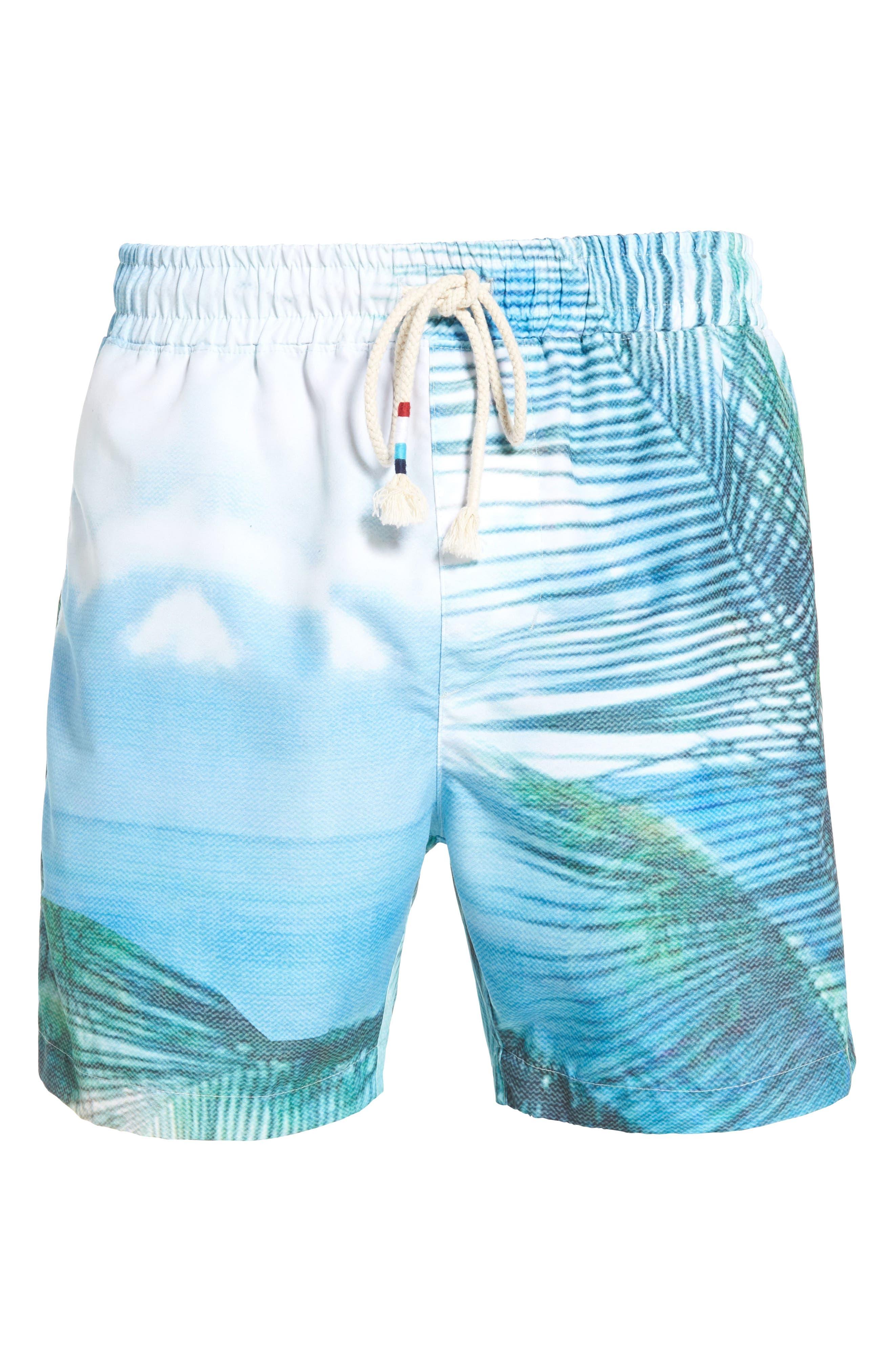Alternate Image 6  - Sol Angeles Quintana Print Swim Trunks