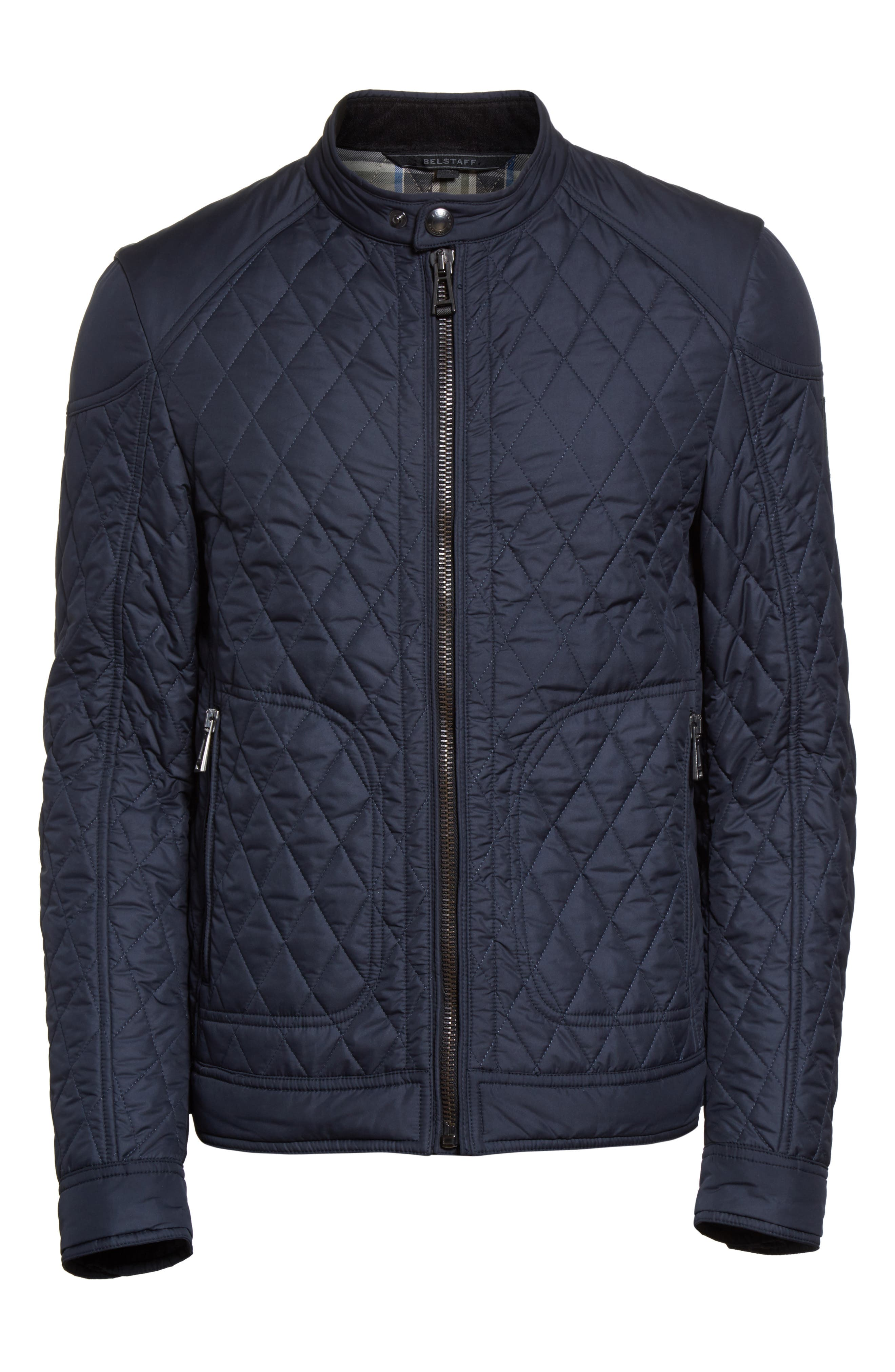 Bramley 2.0 Quilted Jacket,                             Alternate thumbnail 6, color,                             Dark Navy