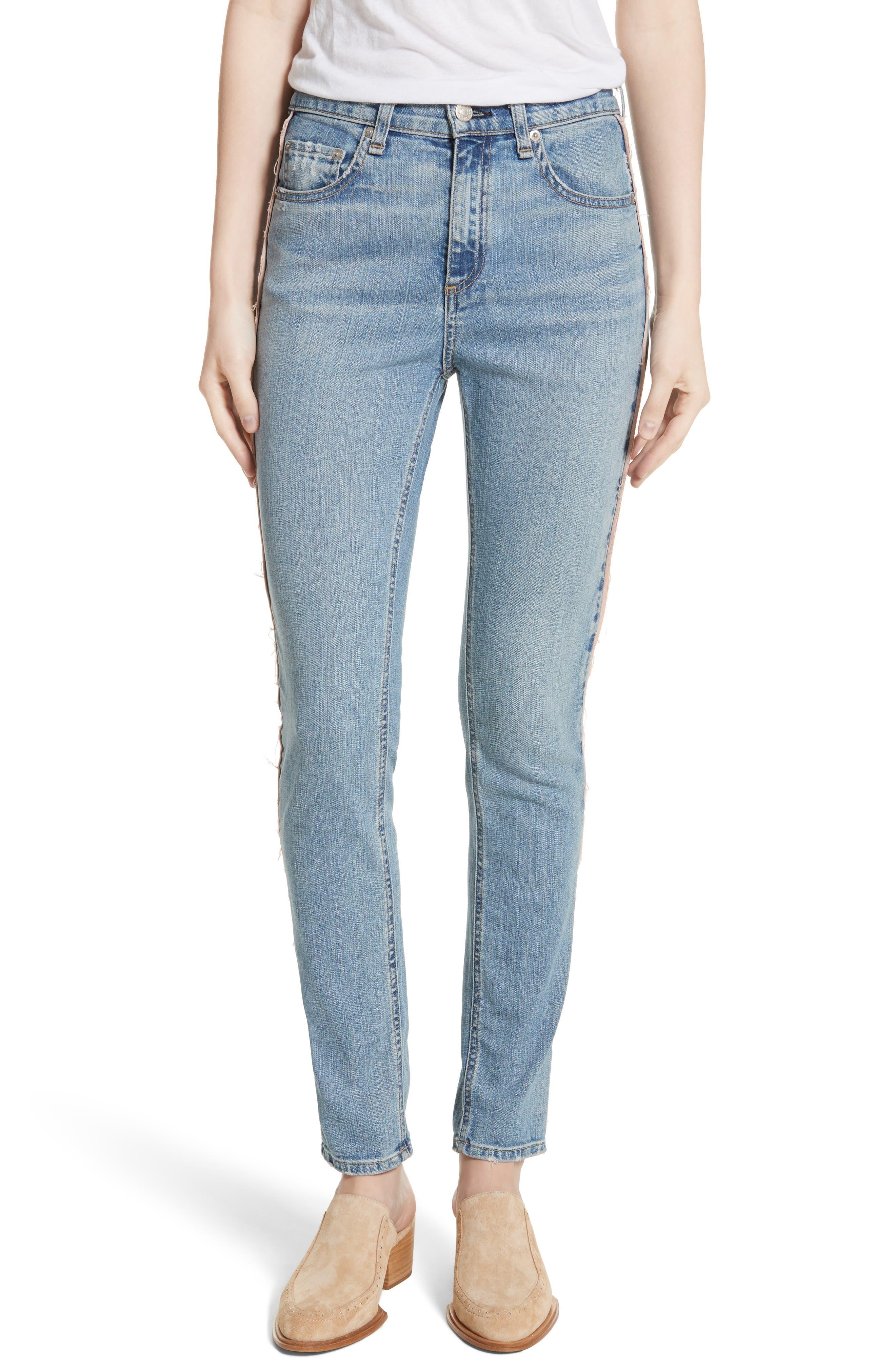 Skinny Jeans,                             Main thumbnail 1, color,                             Liho