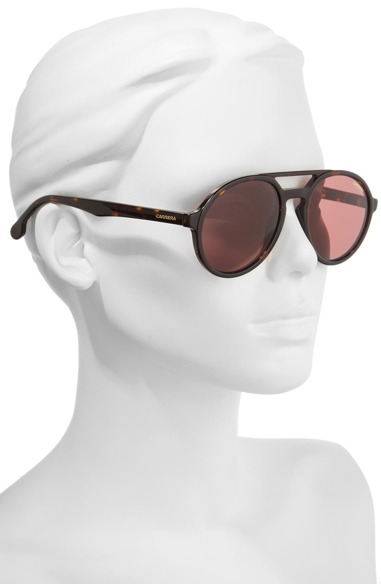 Alternate Image 2  - Carrera Pace 53mm Polarized Pilot Sunglasses