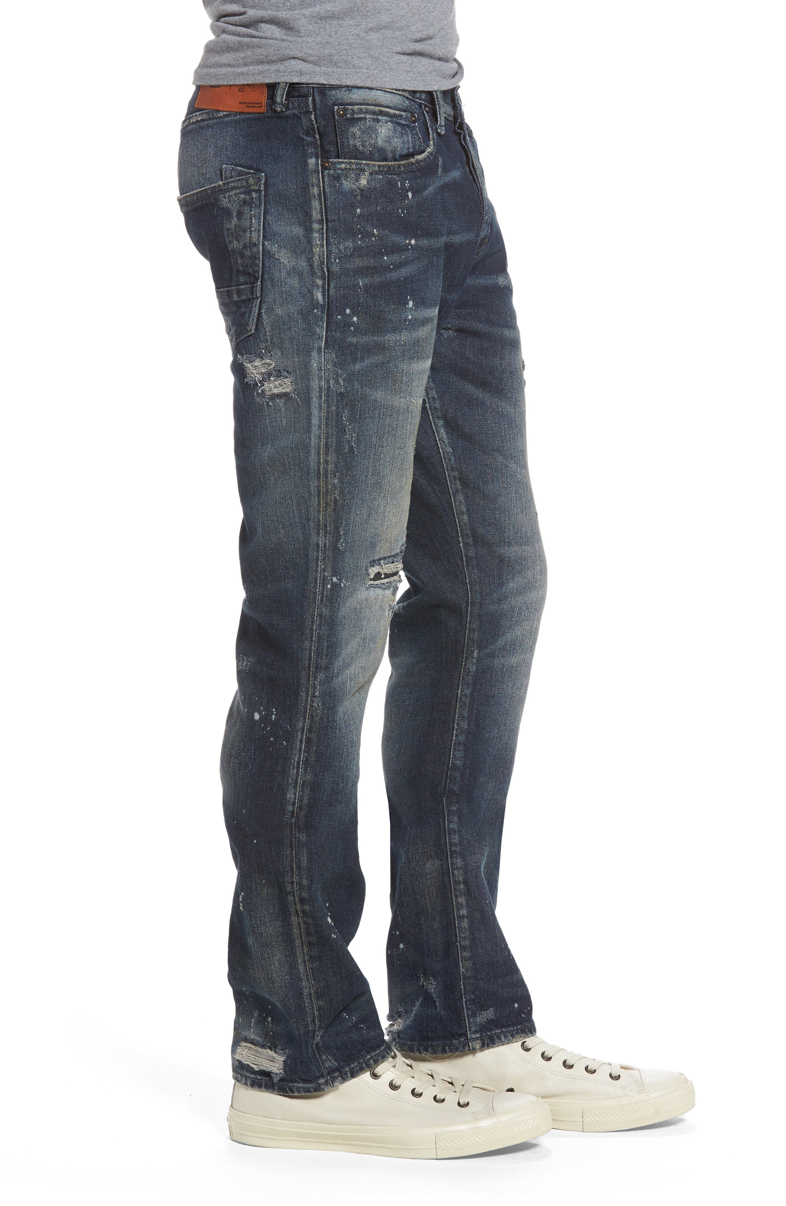 Alternate Image 3  - PRPS Demon Slim Straight Leg Jeans